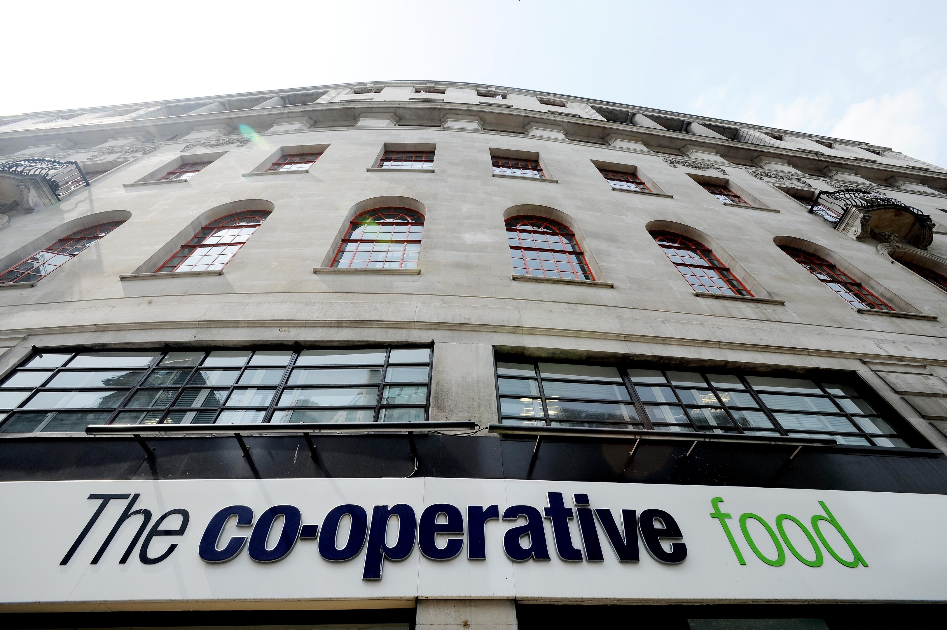 The Co-op's revenues have risen as the rebuilding programme continued.