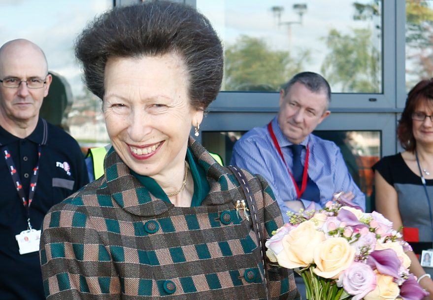 The Princess Royal is to visit Tayside in July.