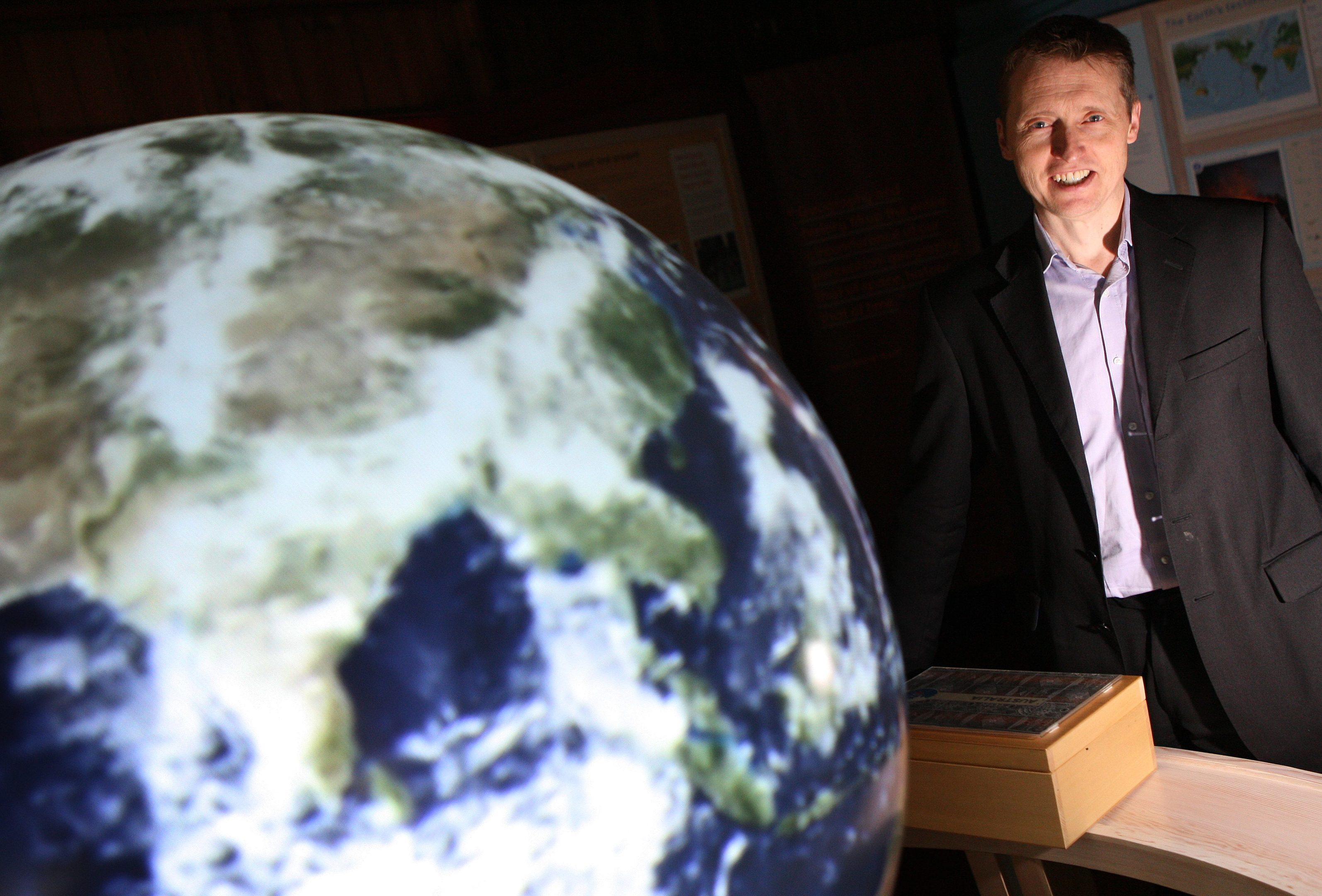 Royal Scottish Geographical Society chief executive Mike Robinson