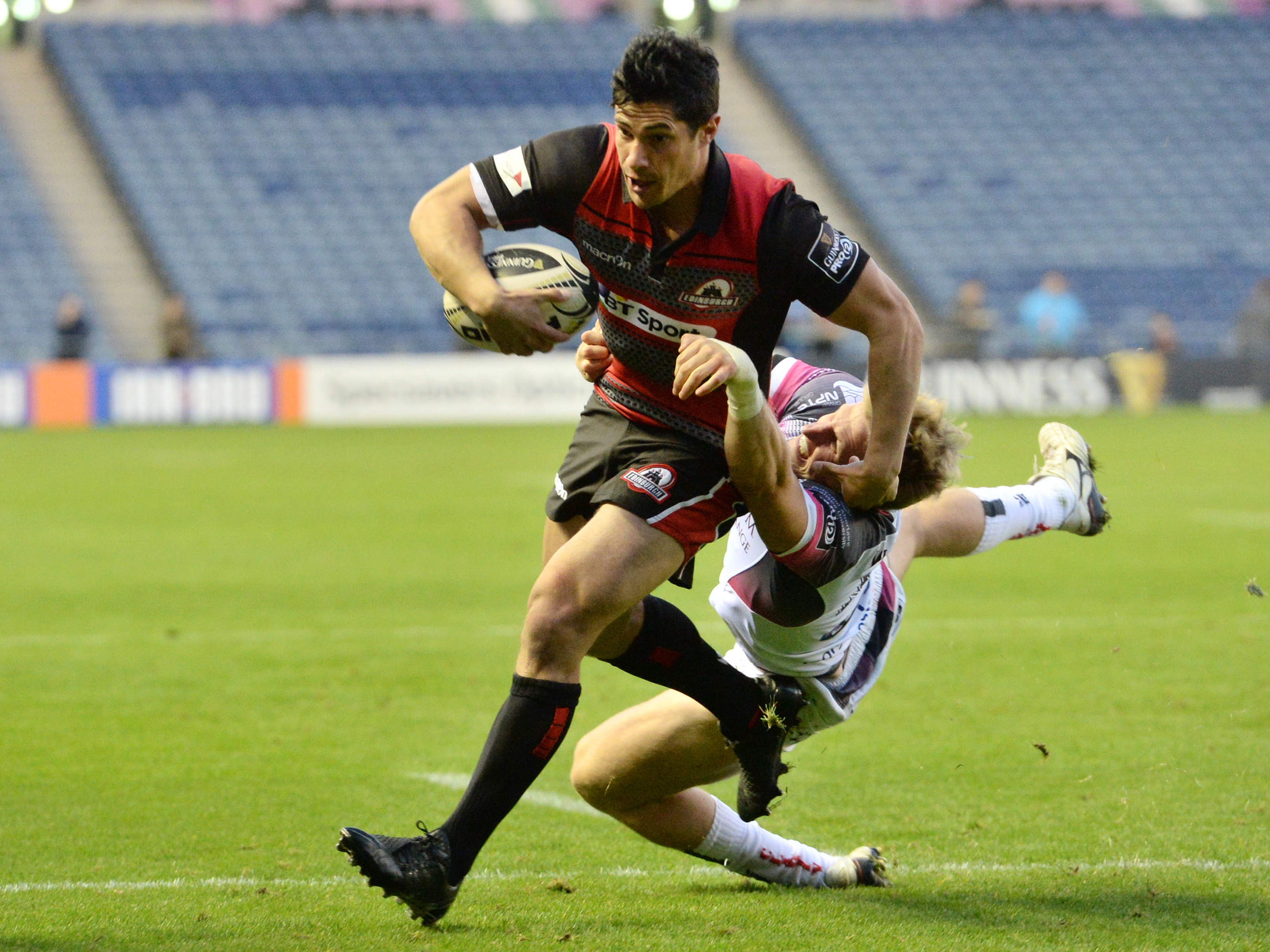 Phil Burleigh thinks Edinburgh's attacking style will be illustrated in FRiday's clash weith Leinster.
