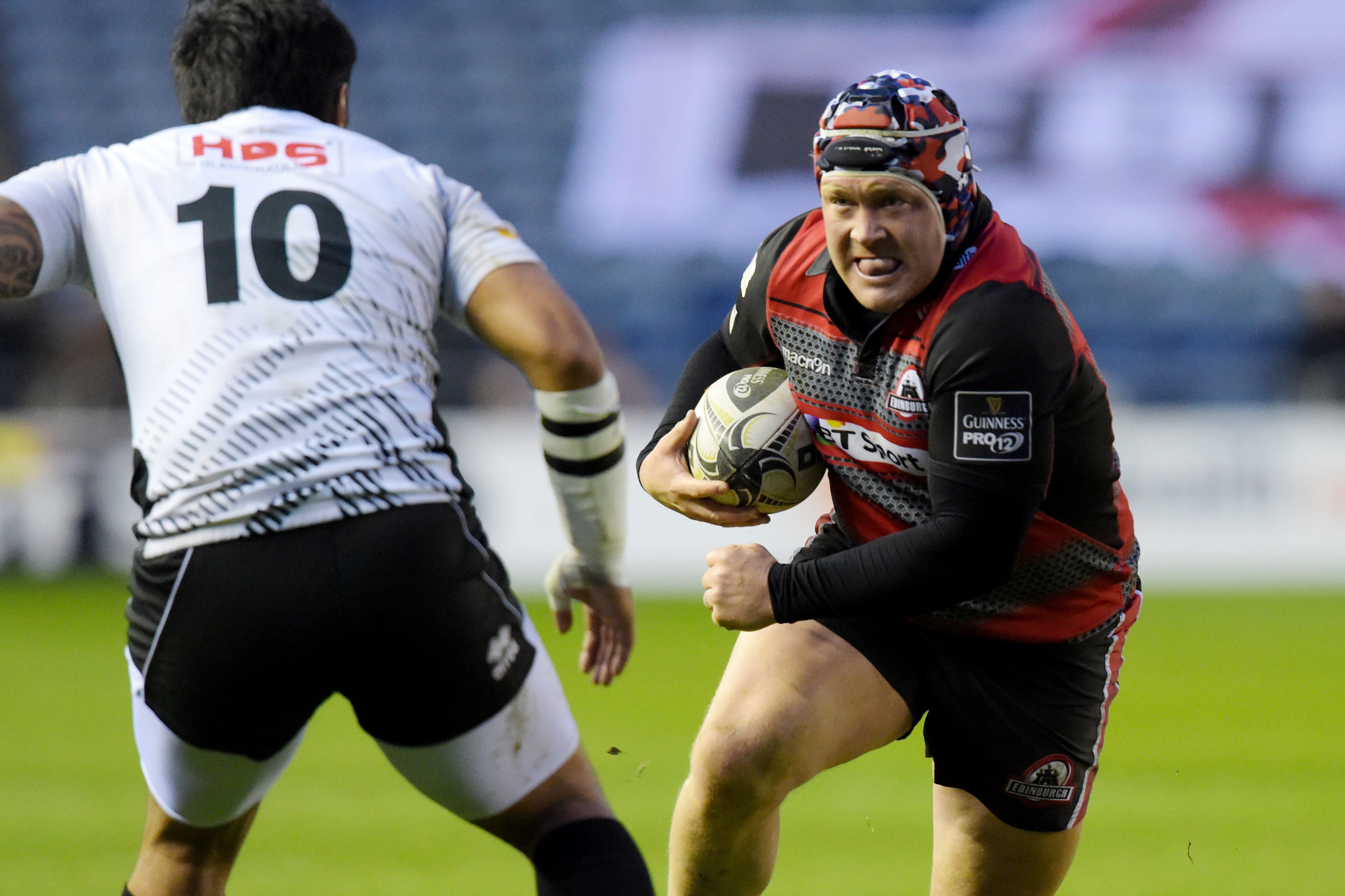 WP Nel has 15 tries in 99 appearances for Edinburgh.