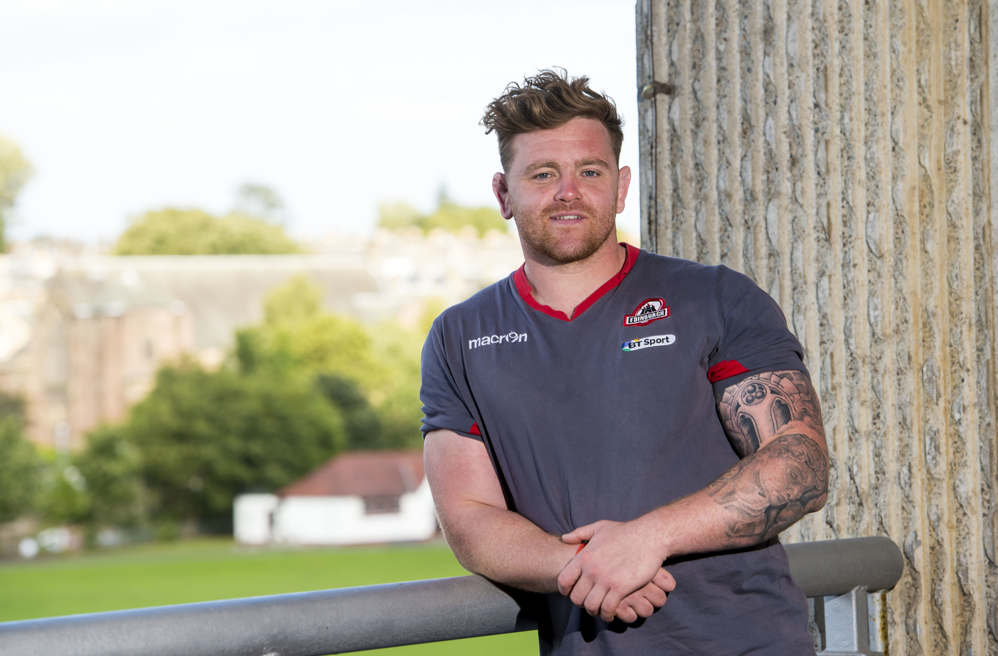 Kevin Bryce has joined the Alloa RFC contingent at Edinburgh Rugby.