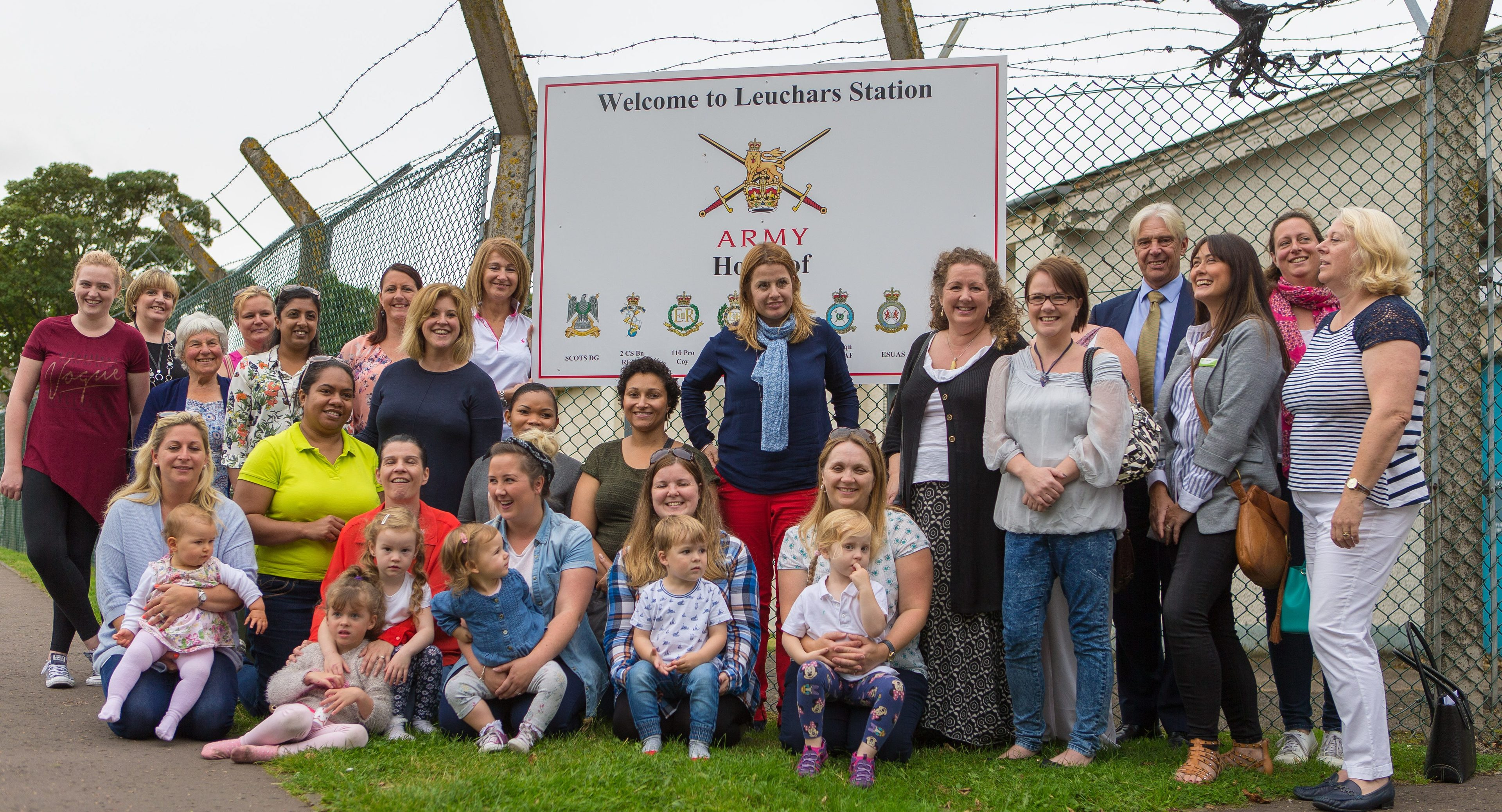 Recruit for Spouses launches at Leuchars army base by founder Heledd Kendrick