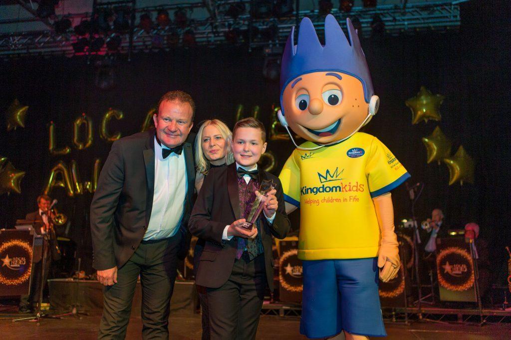 Toby wins Kingdom Kids Award at 2016 Kingdom FM Awards