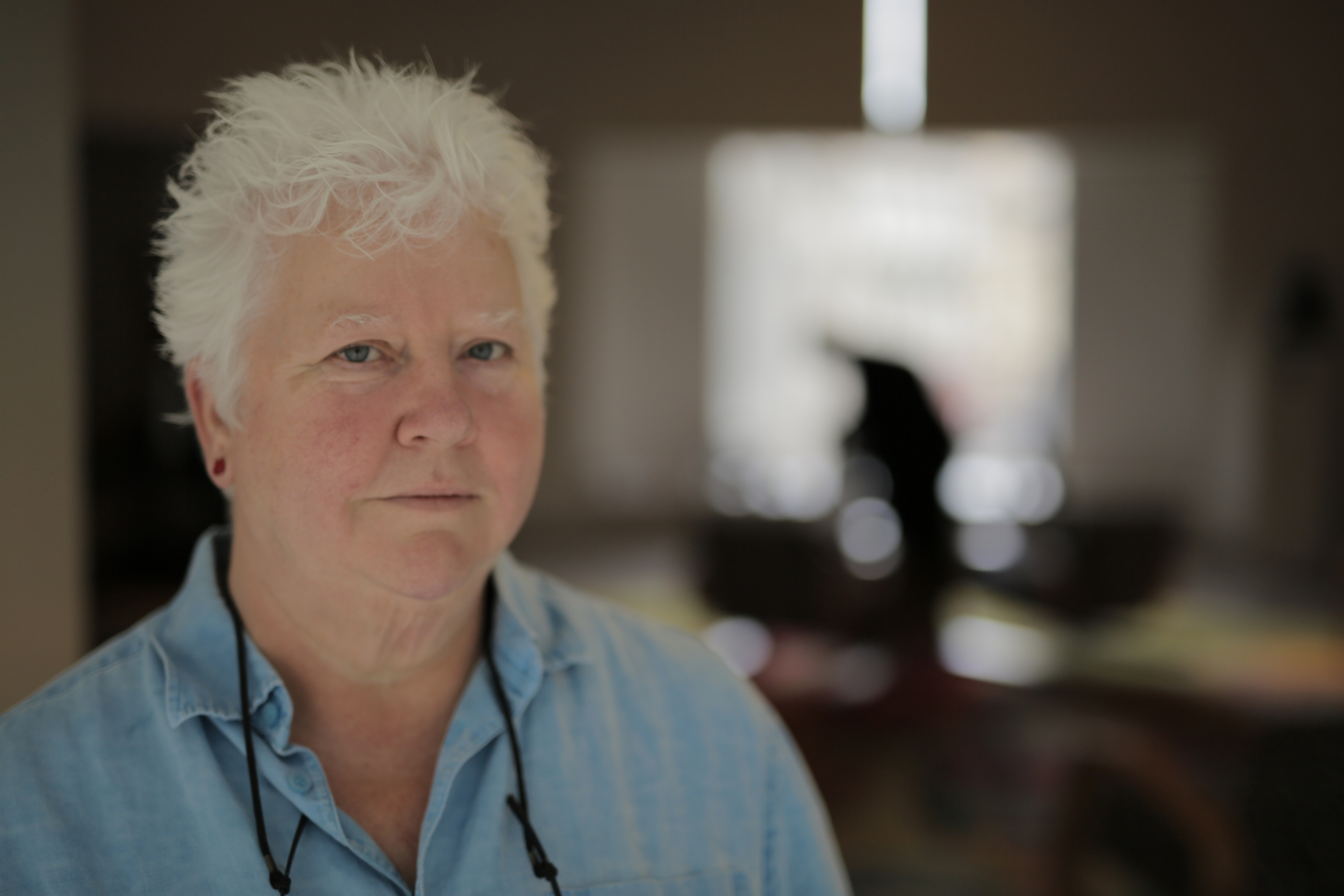 Queen of crime writing Val McDermid.