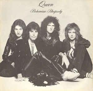 Original Queen - Bohemian Rhapsody single