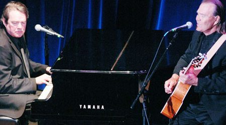 Jimmy Webb and Glen Campbell performing together several years ago