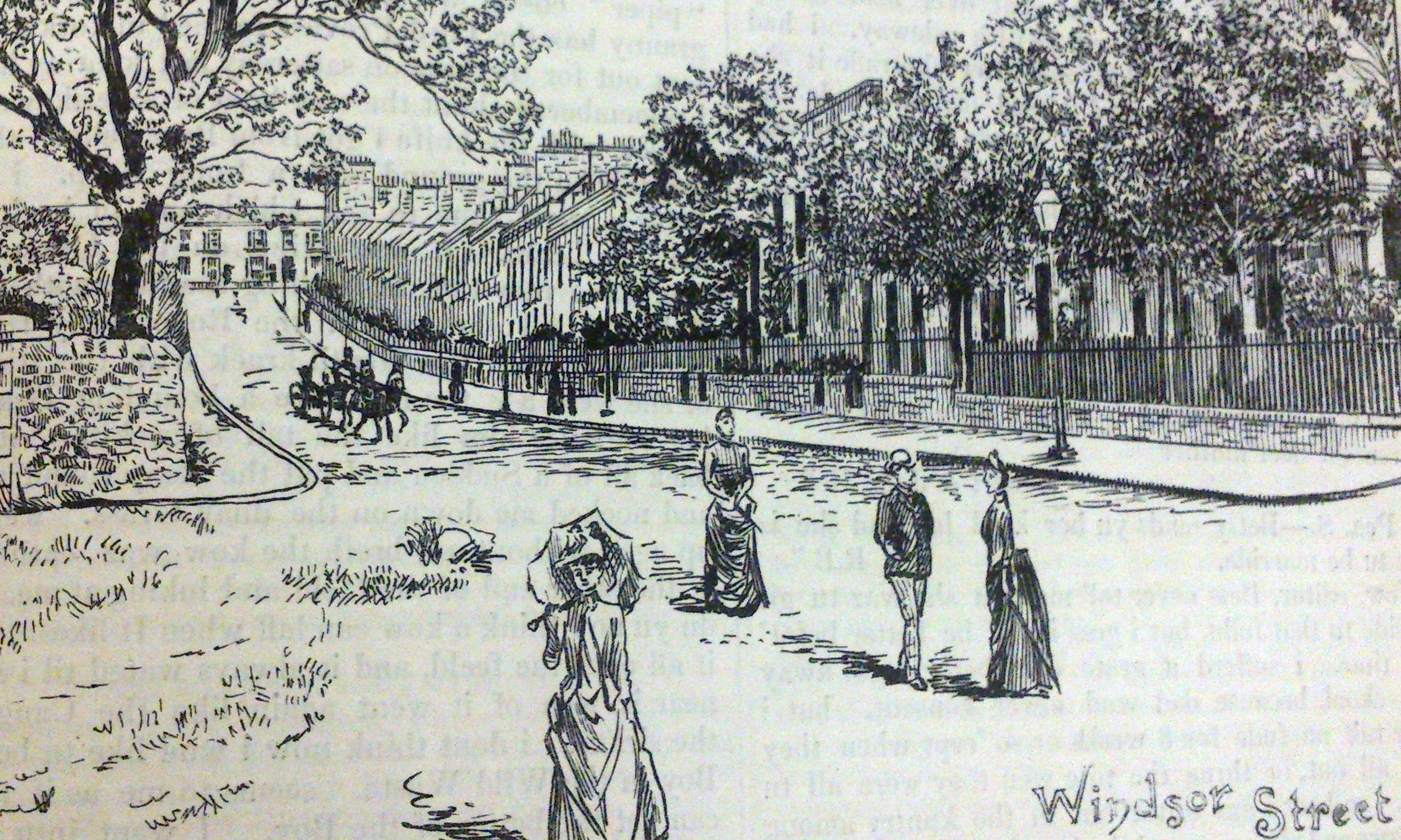 Dundee's West End in 1899