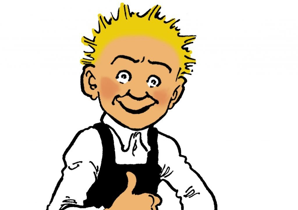 Oor Wullie - a son of Dundee no stranger to the Scots tongue!