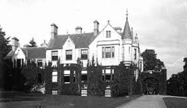 The house in its heyday.