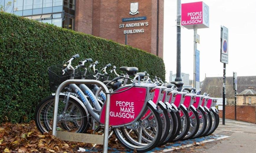 Glasgow's bike hire scheme is set to expand.
