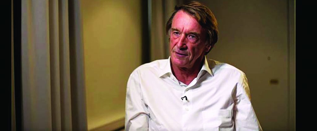 Jim Ratcliffe, chairman of INEOS