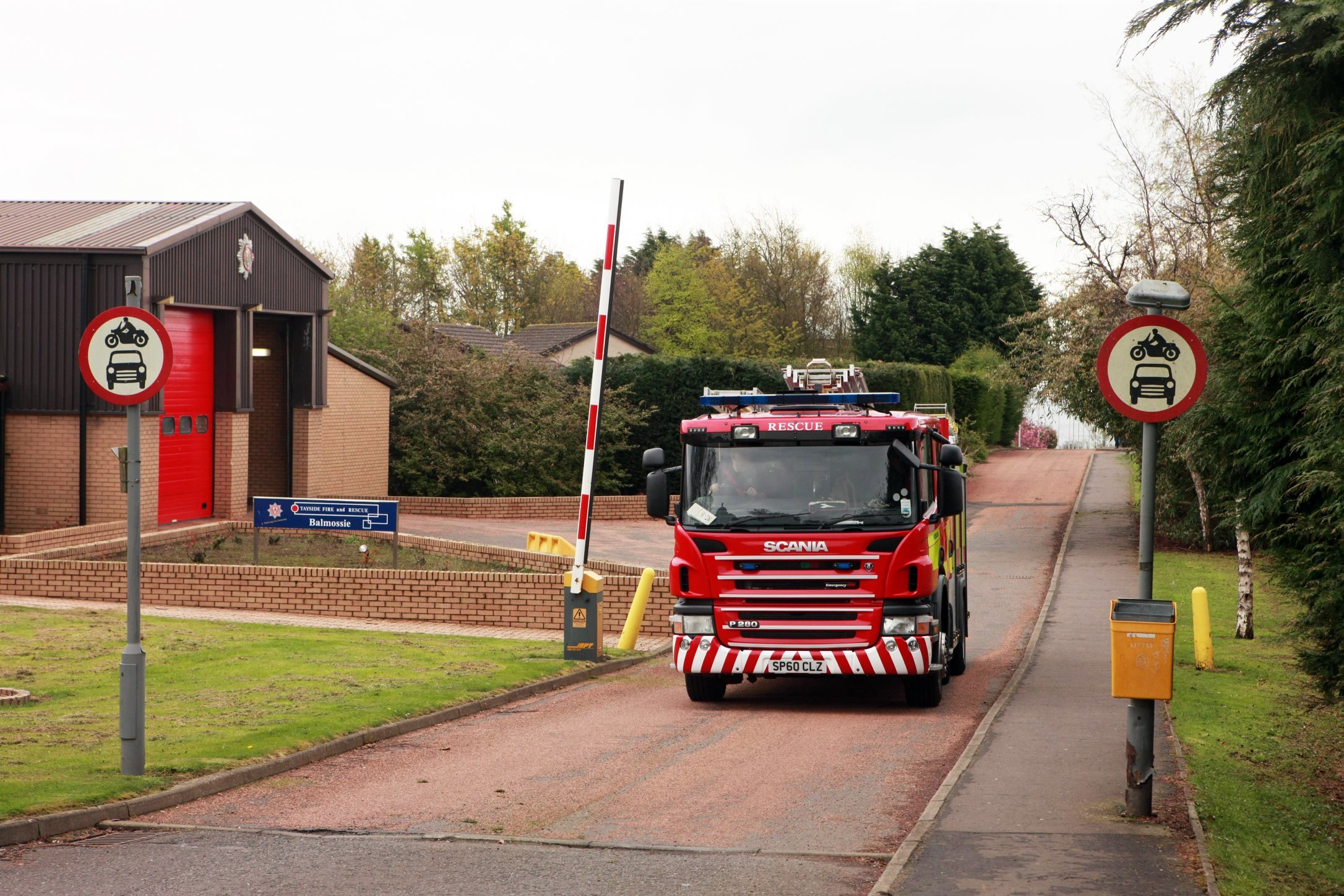 Concerns have been raised over the future of Dundee's fire stations.
