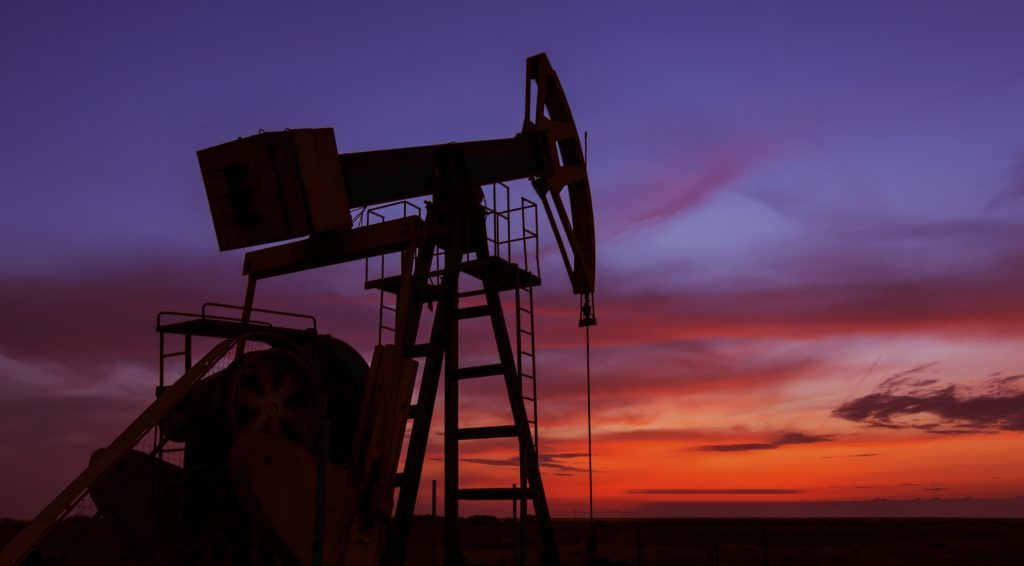 Operating oil and gas well
