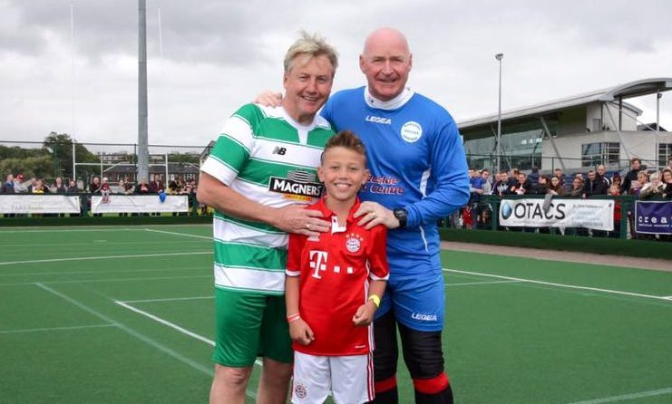 Old Firm Legends are playing a series of games across the country to raise money for charity.