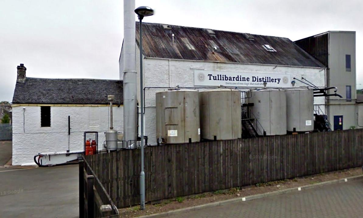 The Tullibardine Distillery at Blackford.