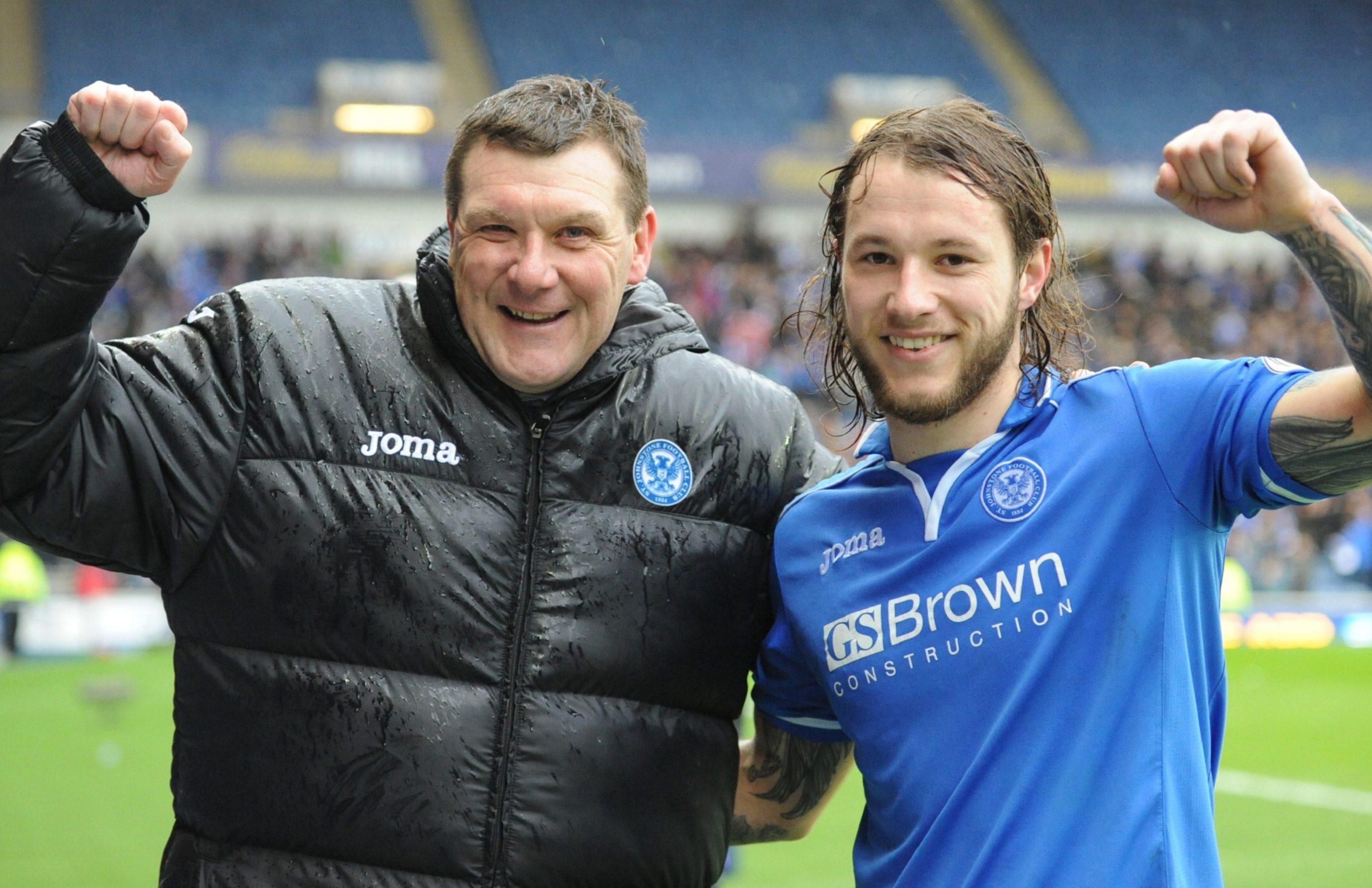 Tommy Wright and Stevie May.