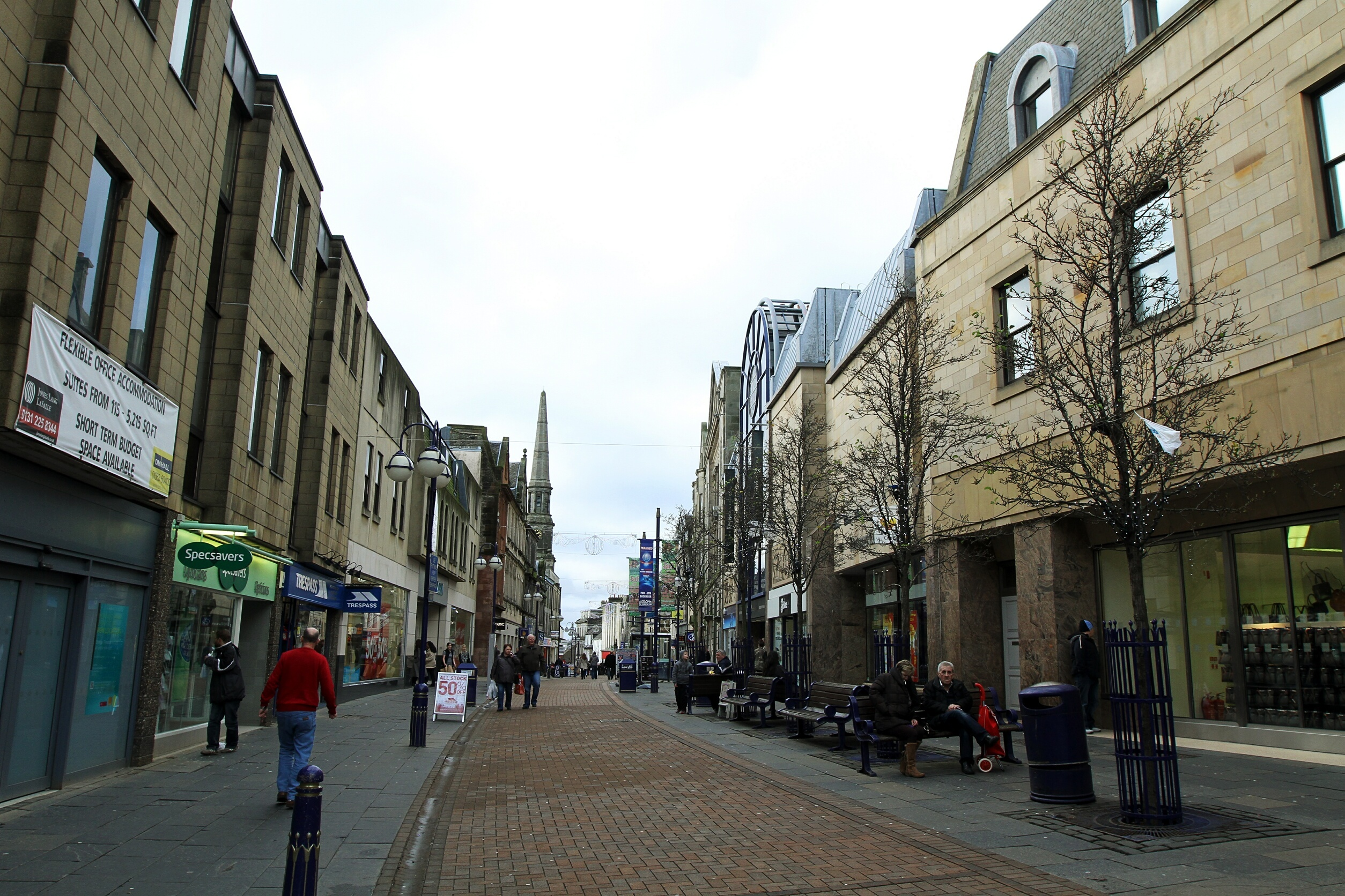 Dunfermline High Street.