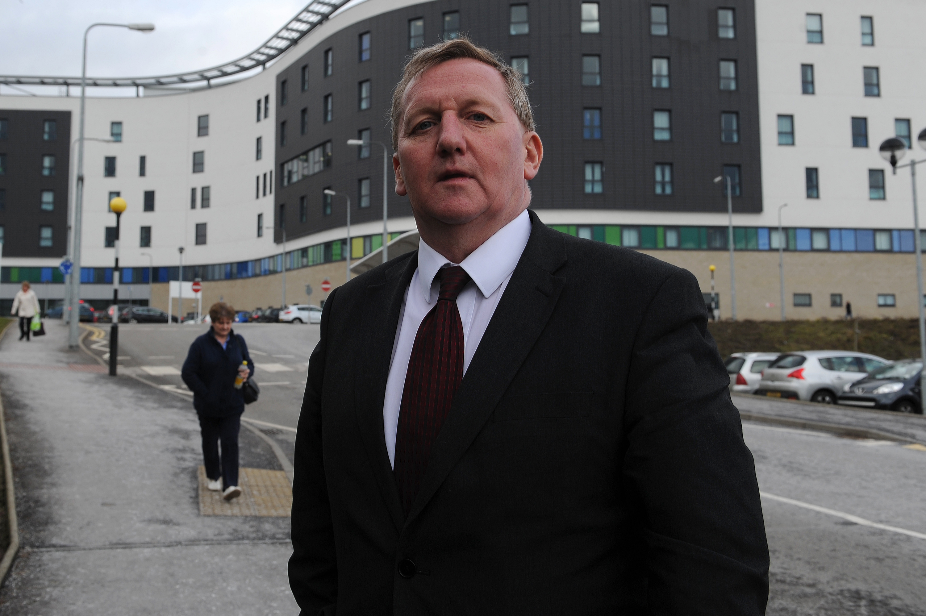 Alex Rowley MSP.
