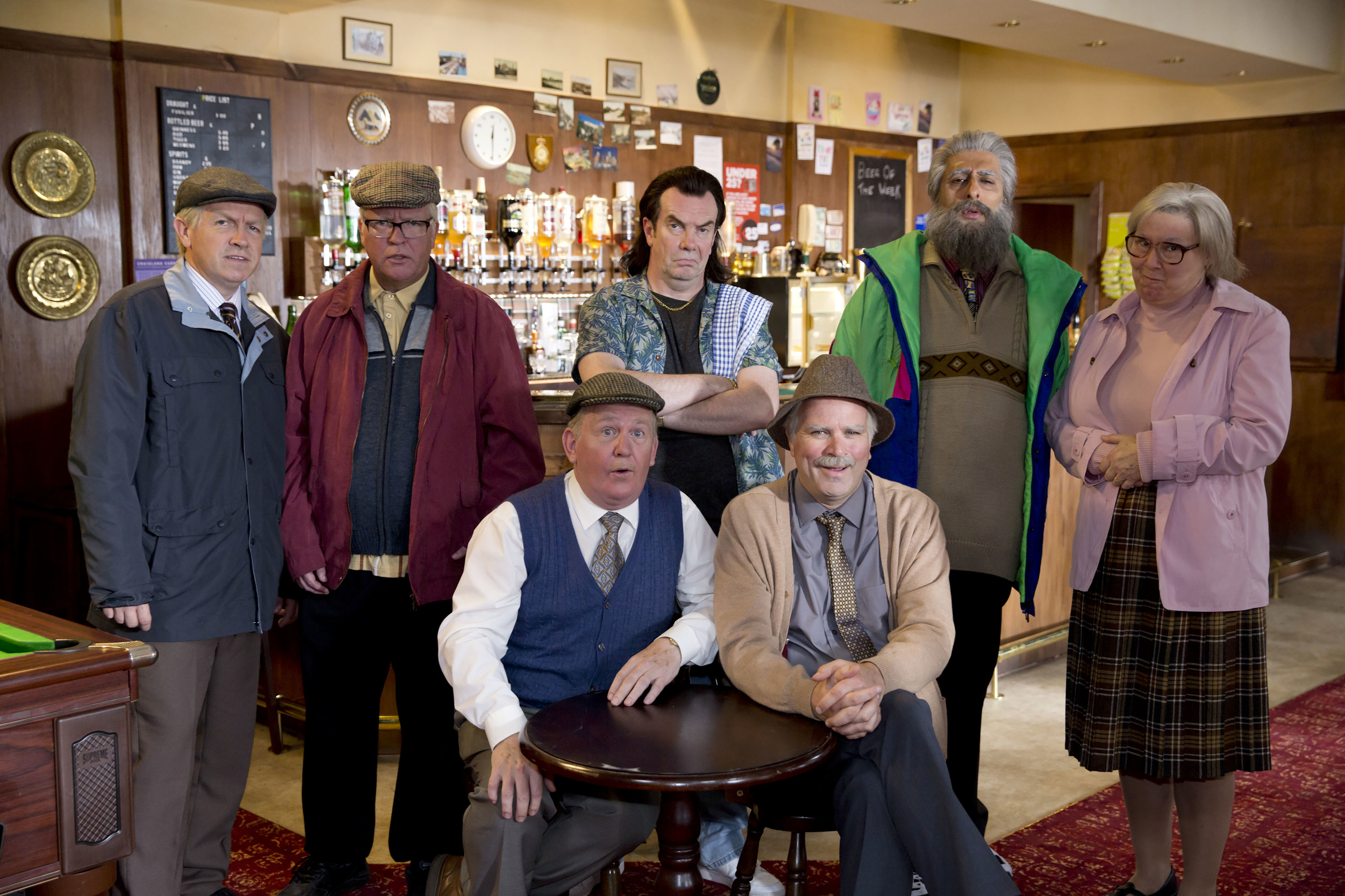Still Game has returned to television after a nine year absence