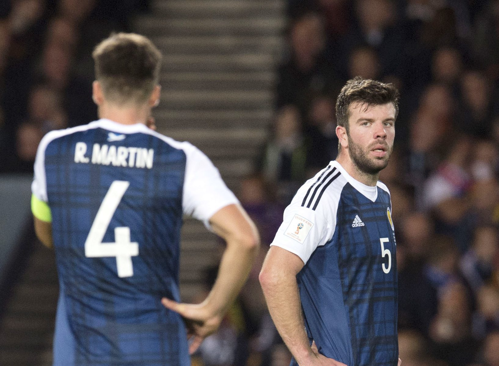 Will Grant Hanley keep his Scotland place in 2017?