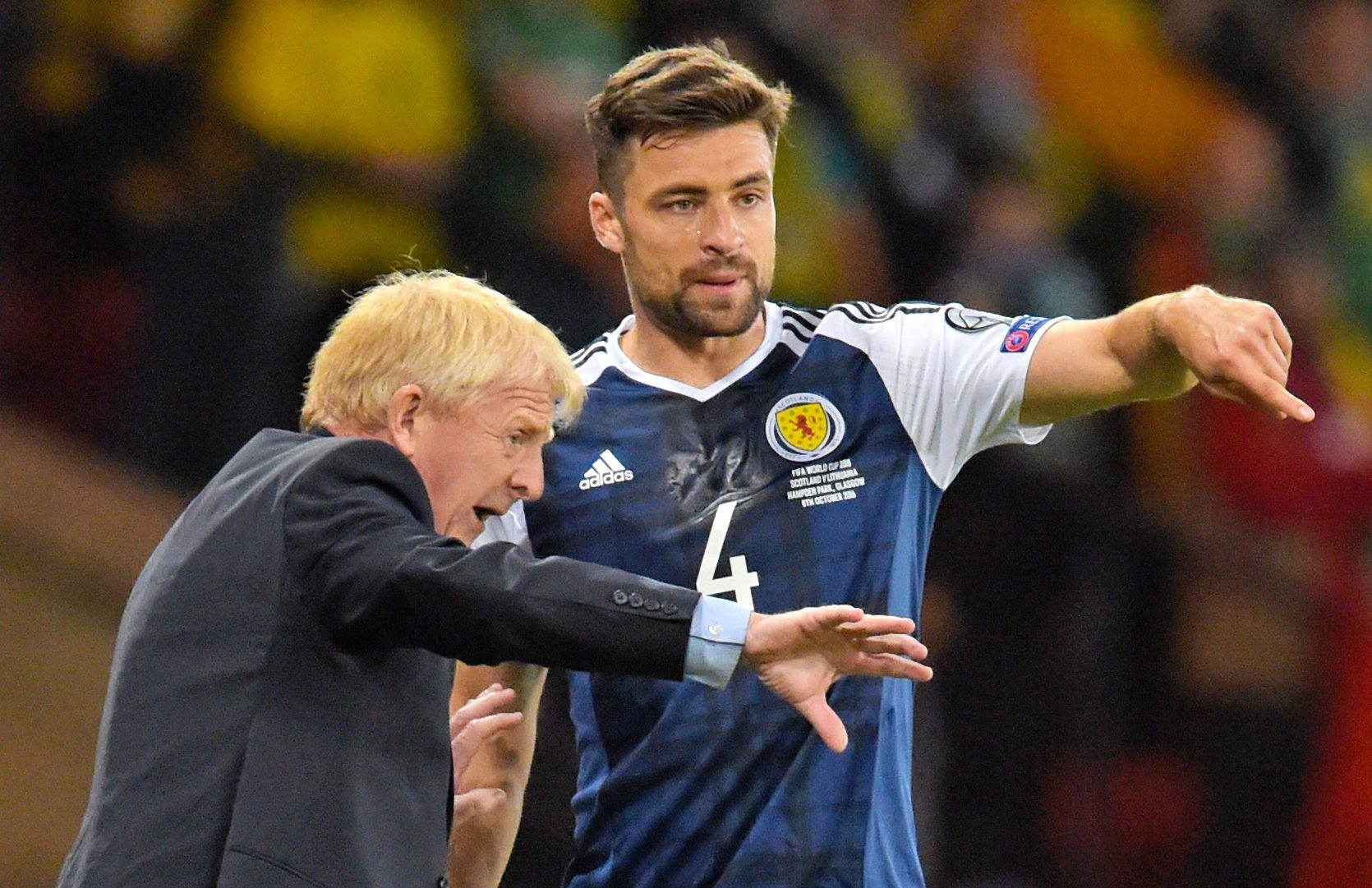 Russell Martin and Gordon Strachan can still see a path to World Cup qualification.