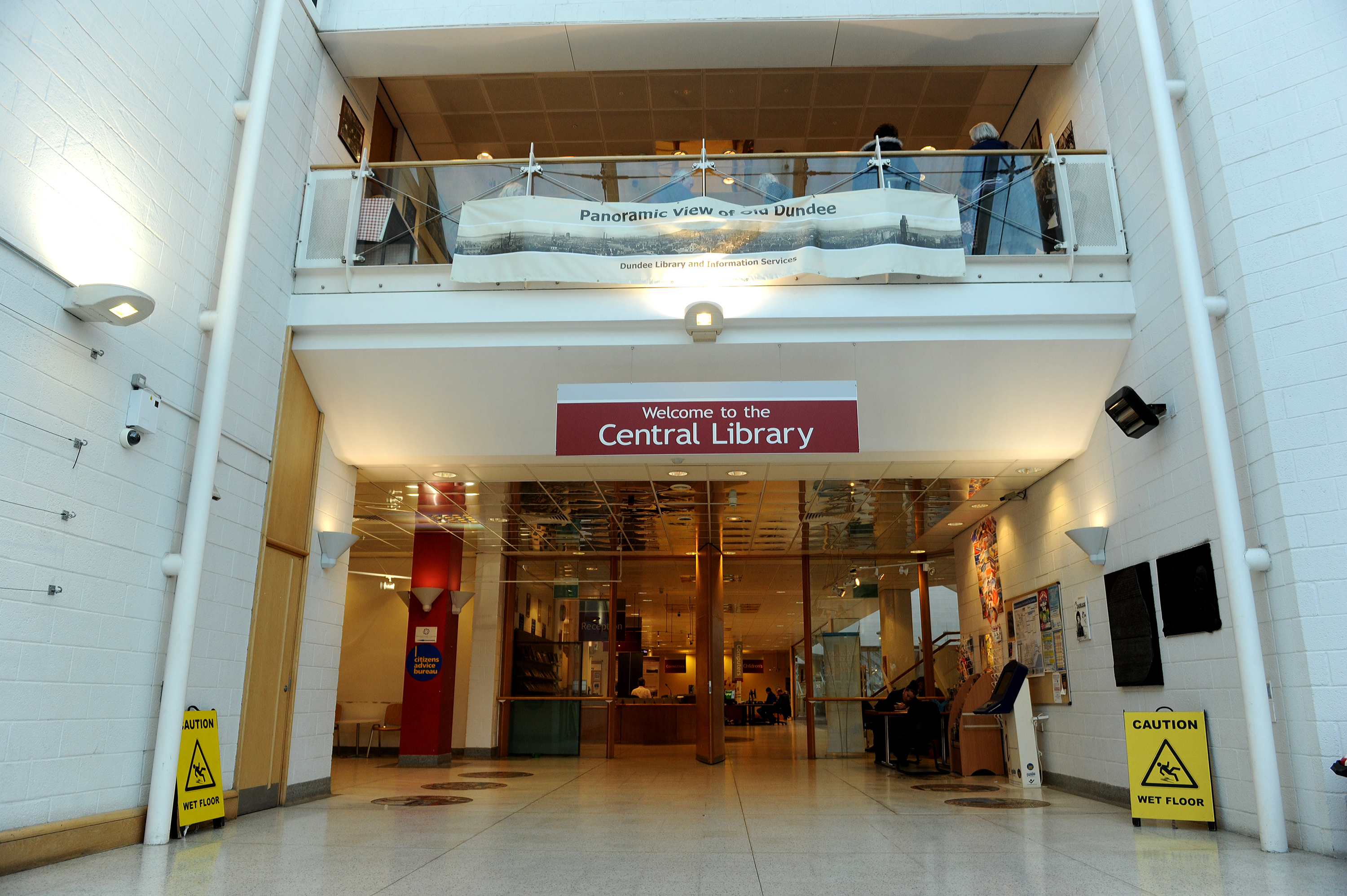 Dundee Central Library.
