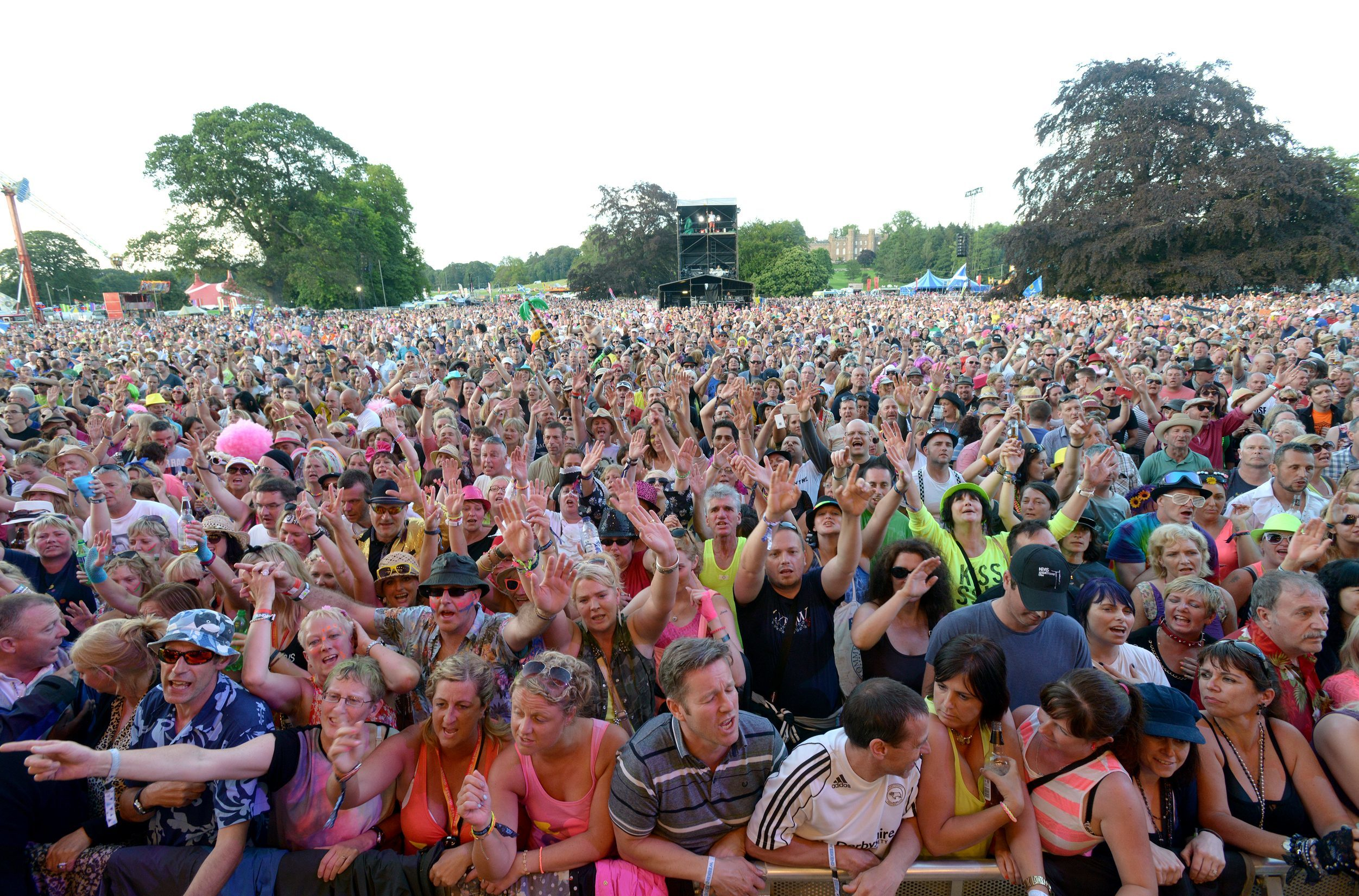 The Rewind festival draws huge crowds to Perthshire.