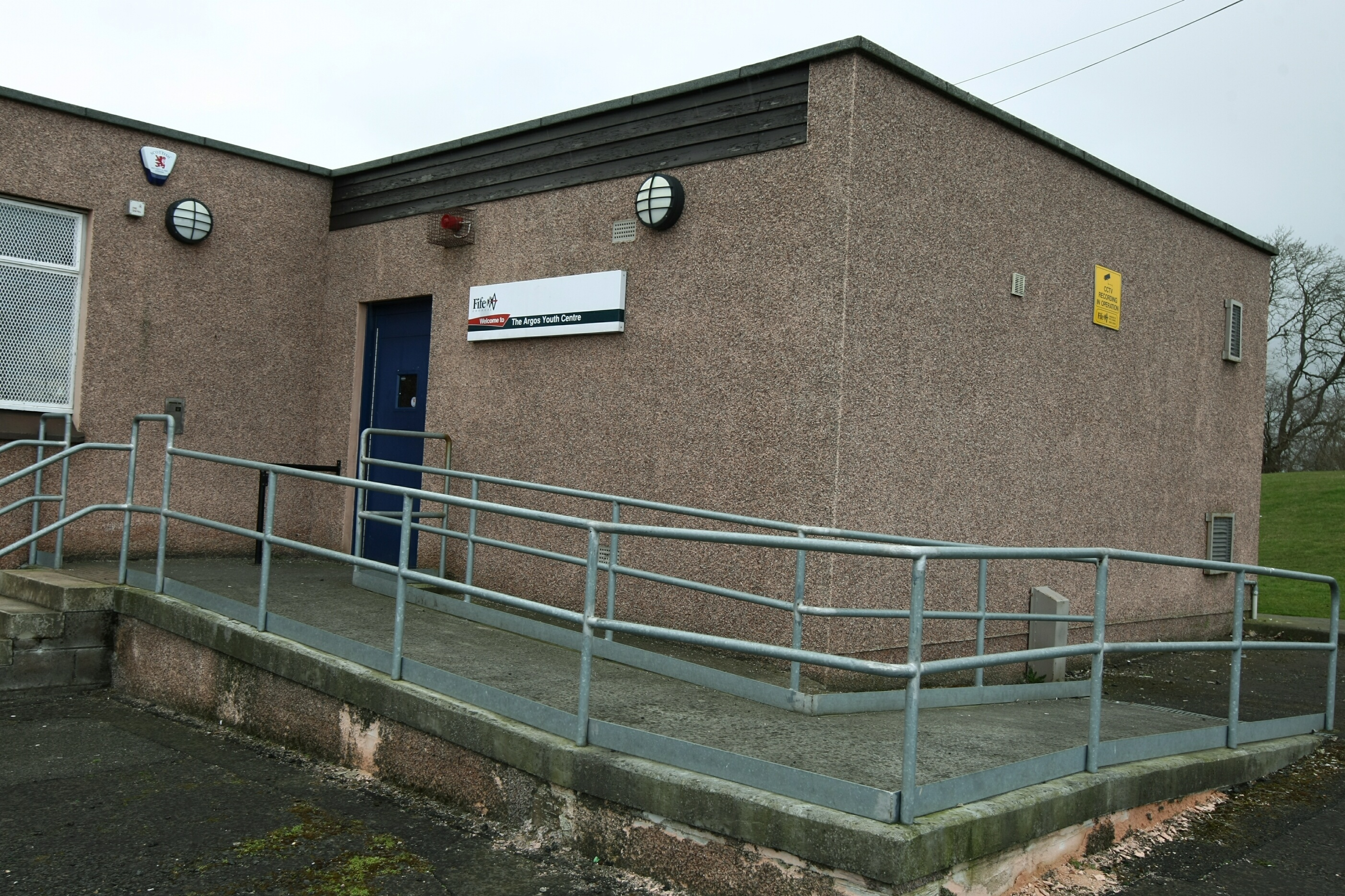 The Argos Youth Centre in Kirkcaldy.