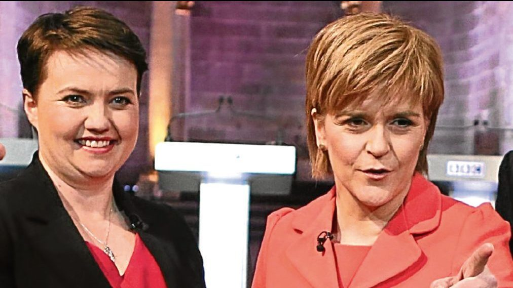 Scottish Conservative leader Ruth Davidson and SNP counterpart, First Minister Nicola Sturgeon.