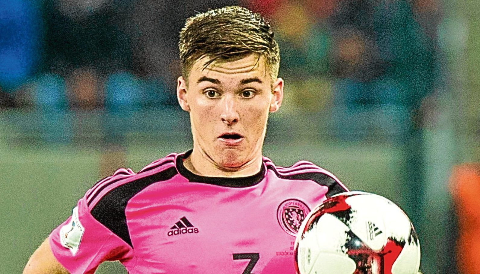 Wearing pink, as shown by full-back Kieran Tierney, contributed to our downfall on the pitch believes Jamie Buchan.