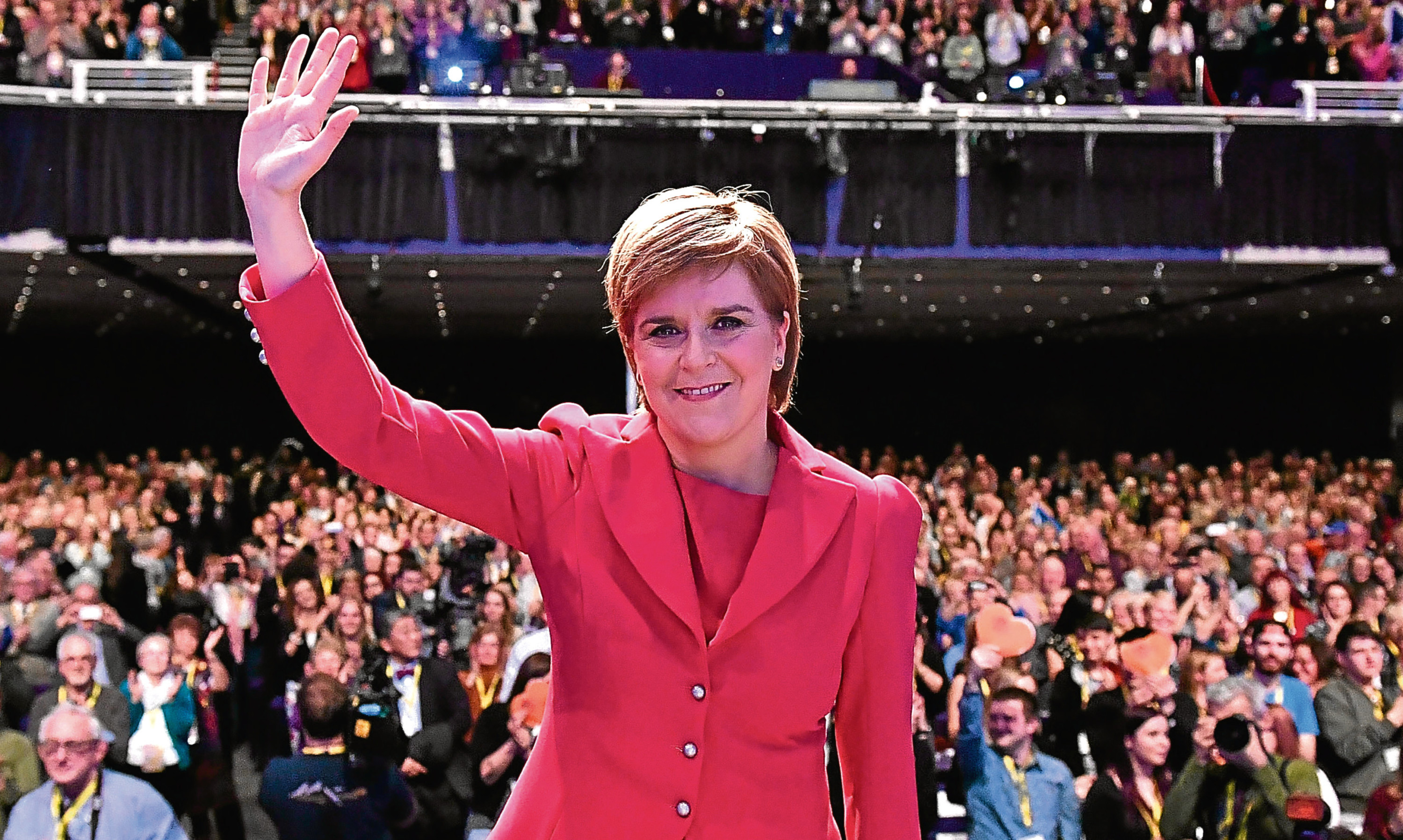 Applause for Nicola Sturgeon at the SNPs conference. But could there be trouble ahead from factions within her own party?