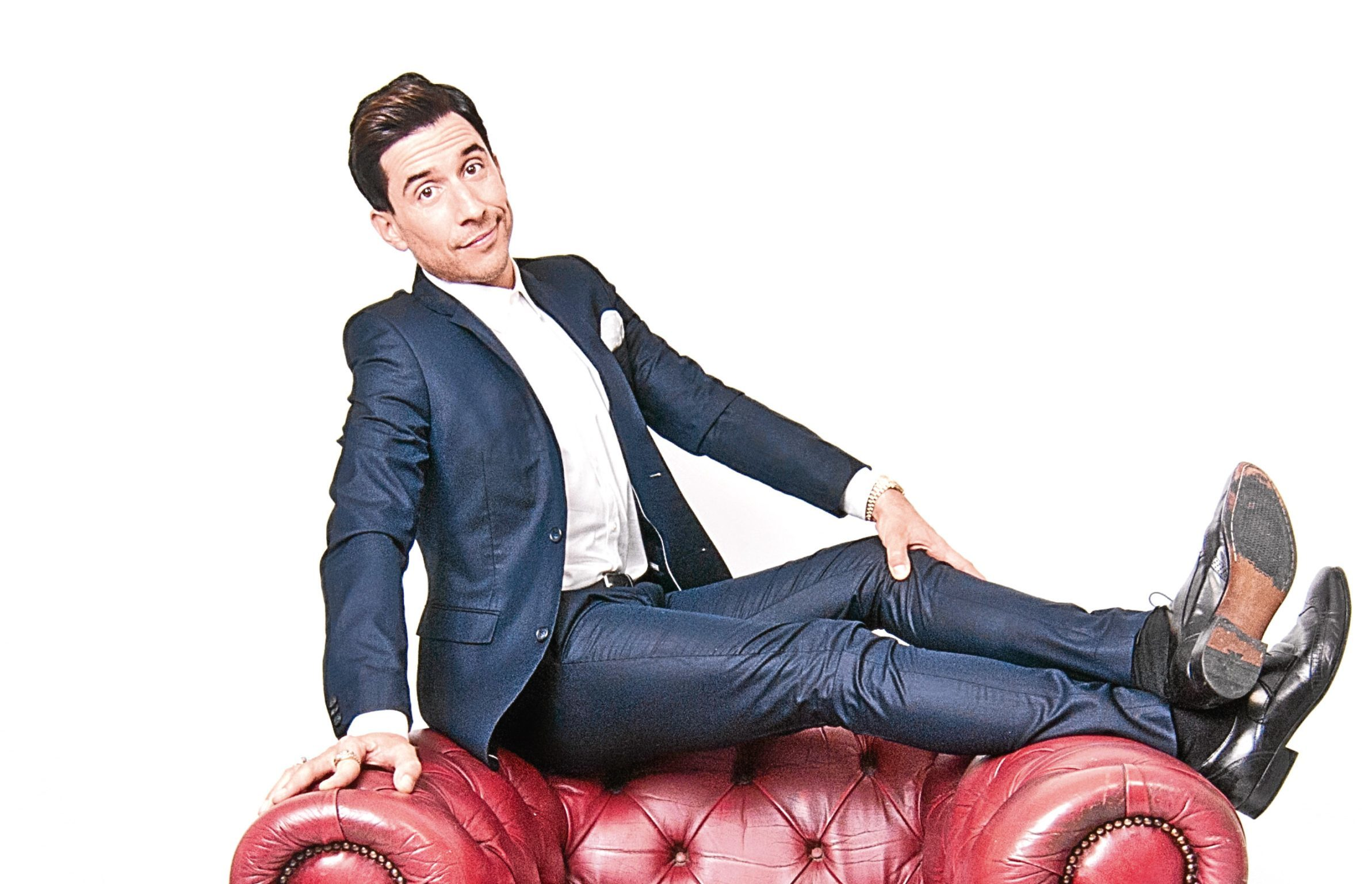 Comedian Russell Kane.
