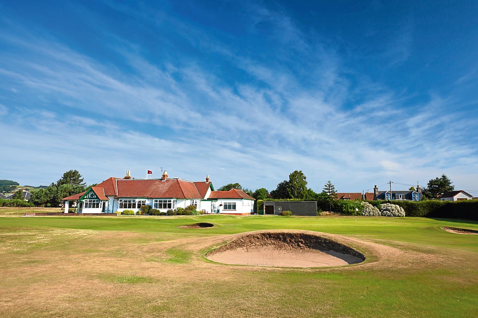 Scotscraig Golf Club in Tayport