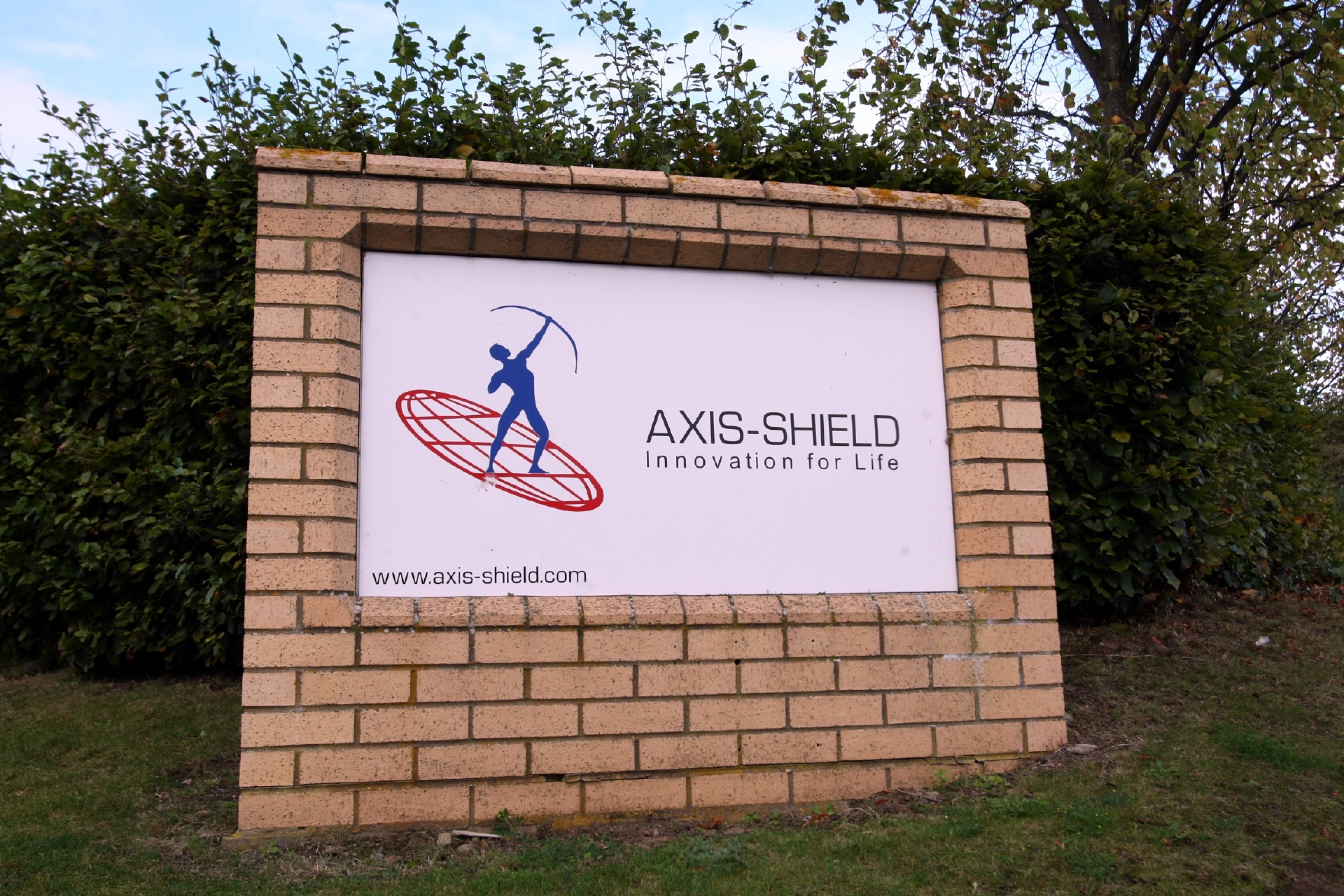 Axis-Shield at Luna Place, Dundee Technology Park.