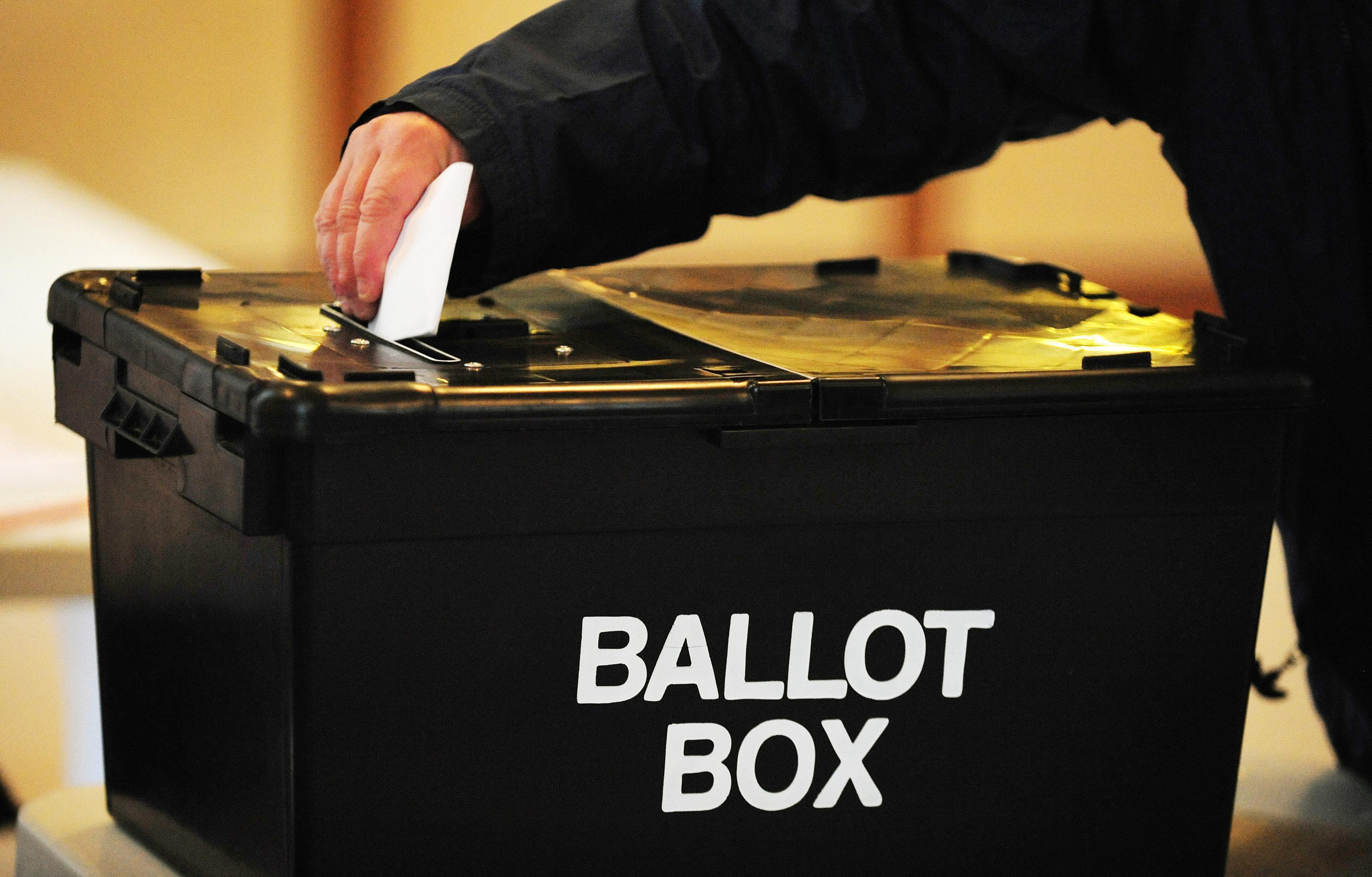 The Electoral Reform Society wants to see the first past the post voting system scrapped for the general election.