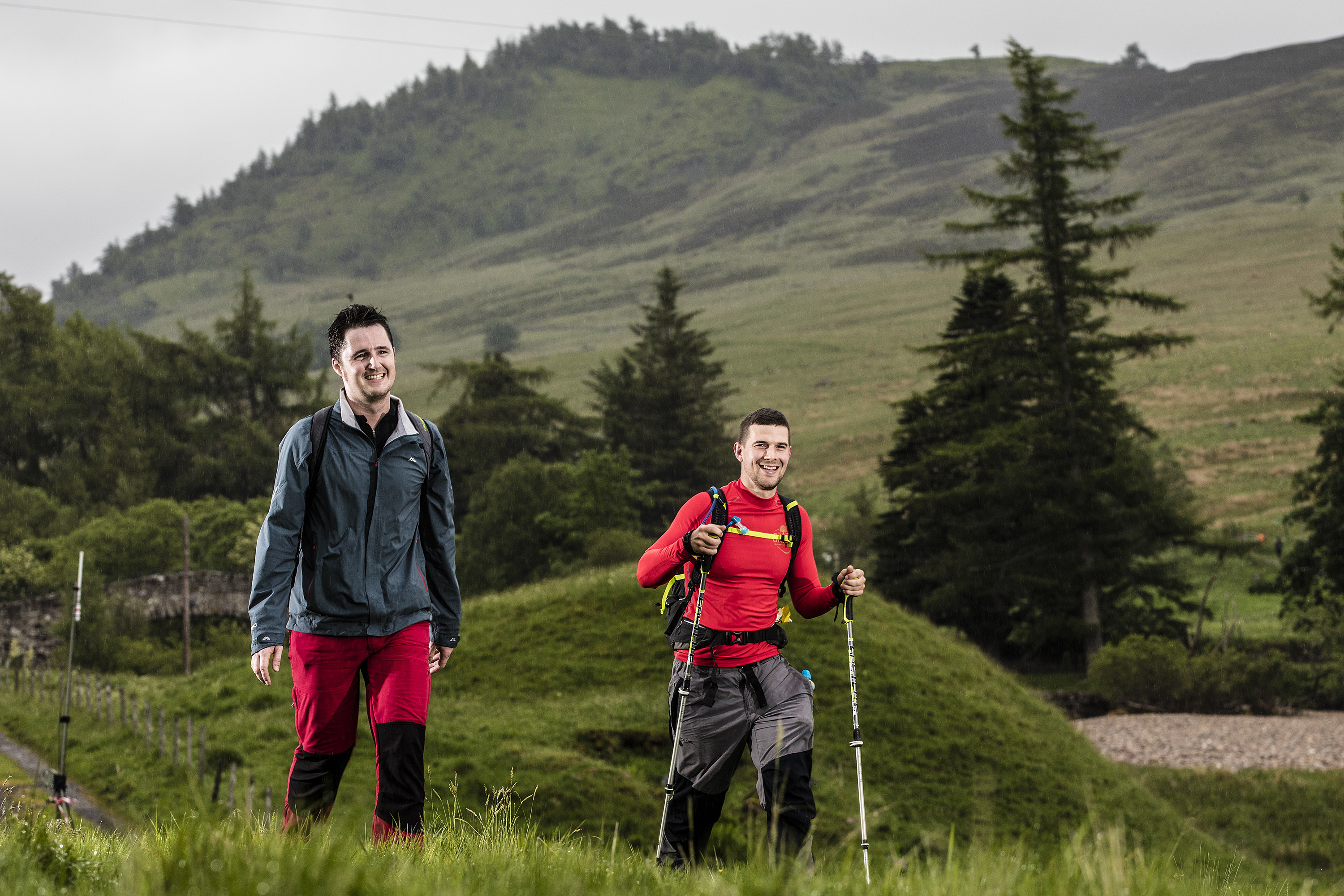 More than 8,000 people now take to the Cateran Trail each year, hundreds of them during the Cateran Yomp charity event.
