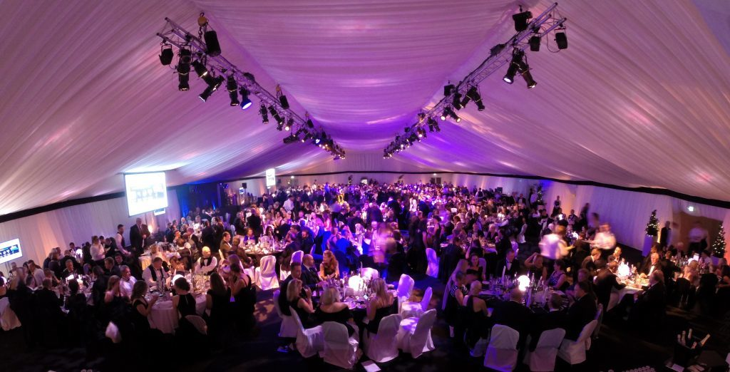 Around 700 people attended last year's awards event at Apex City Quay Hotel.