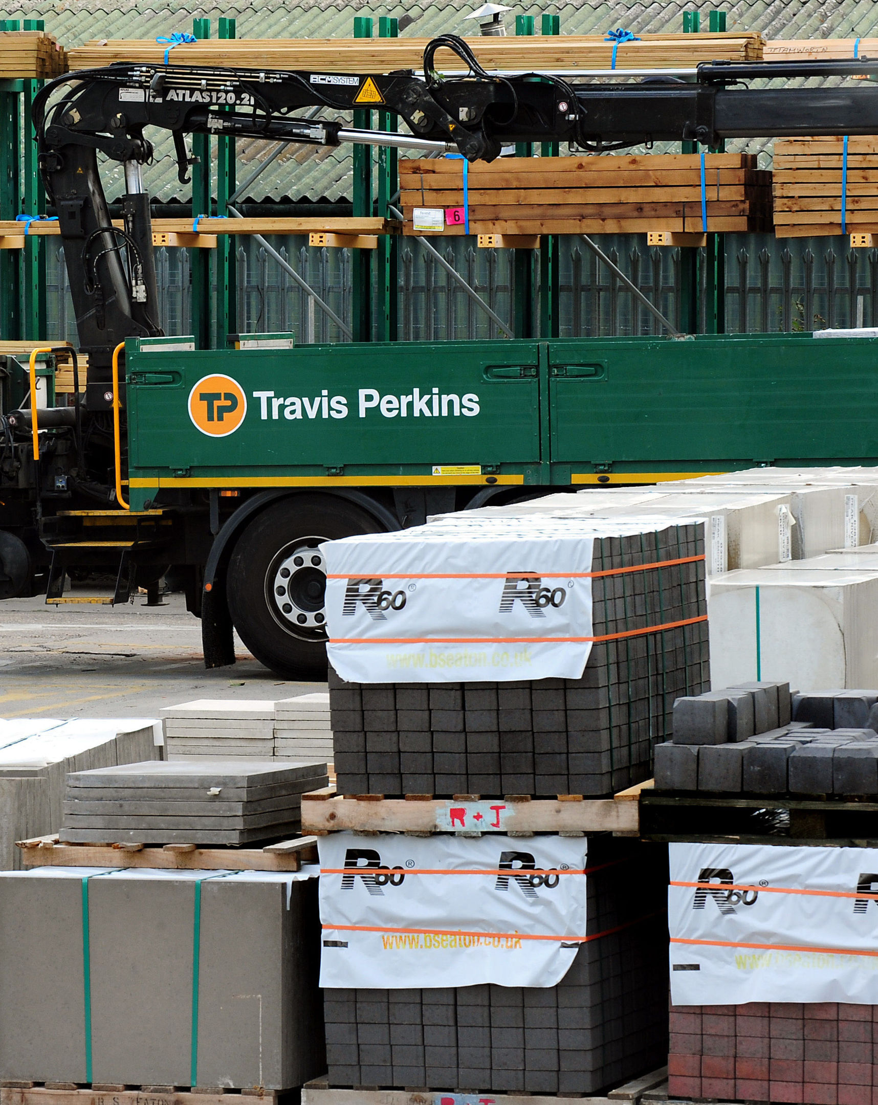 Travis Perkins is to close more than 30 branches in a move impacting 600 jobs