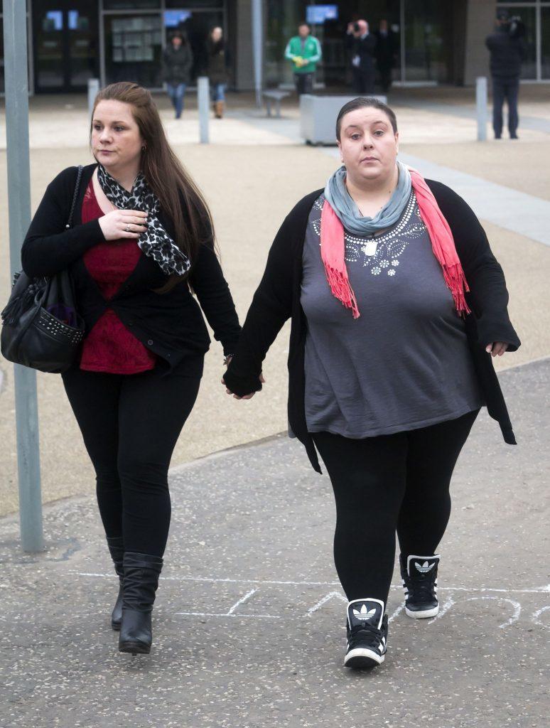 Rachel Trelfa and Nyomi Fee were found guilty of Liam's murder.