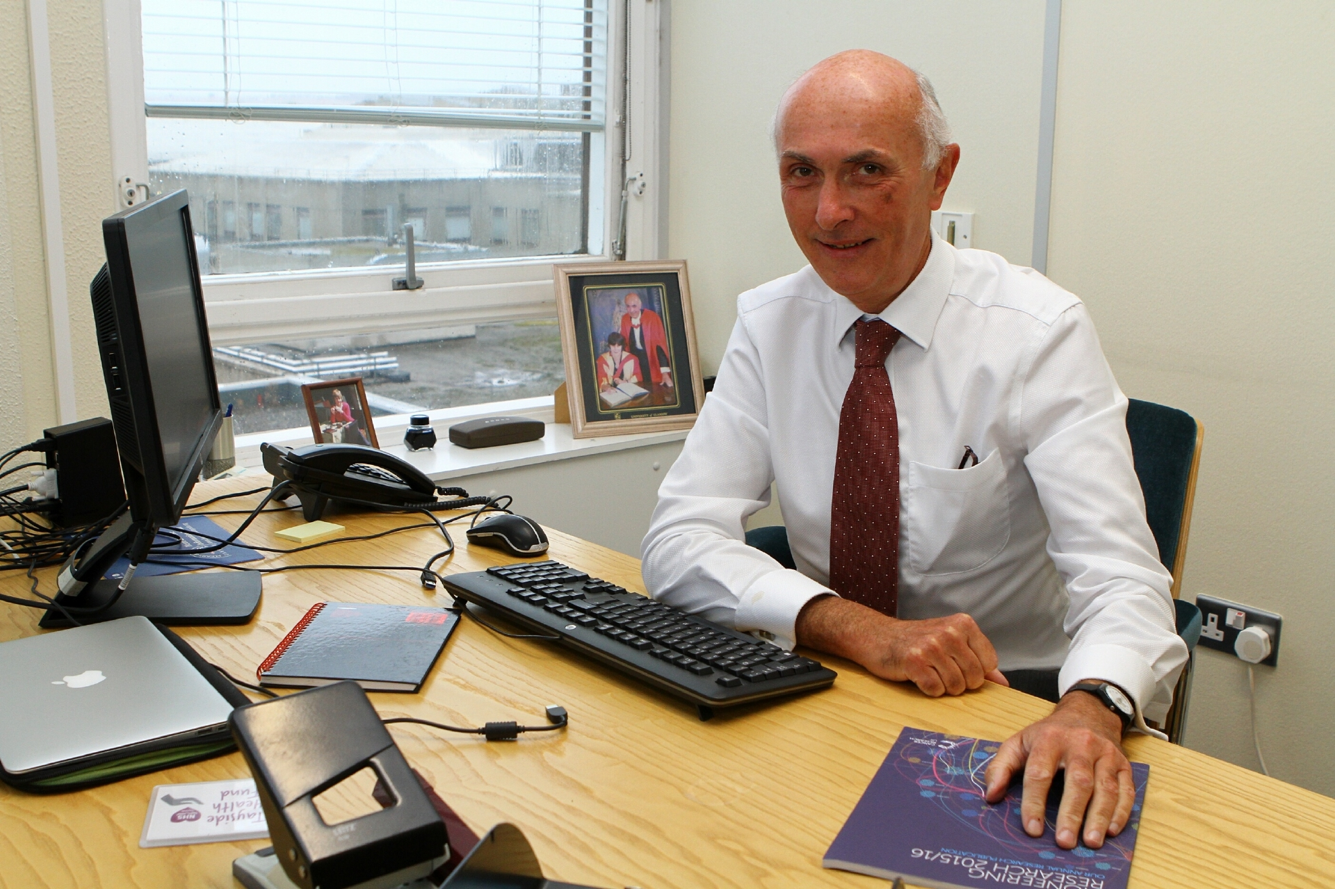 Professor John Connell, chairman of NHS Tayside