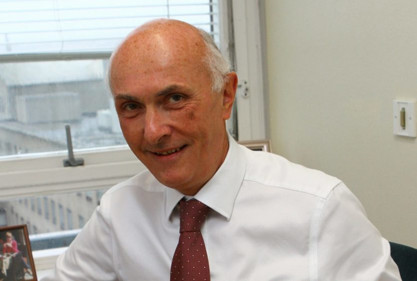 Professor John Connell, former chairman of NHS Tayside