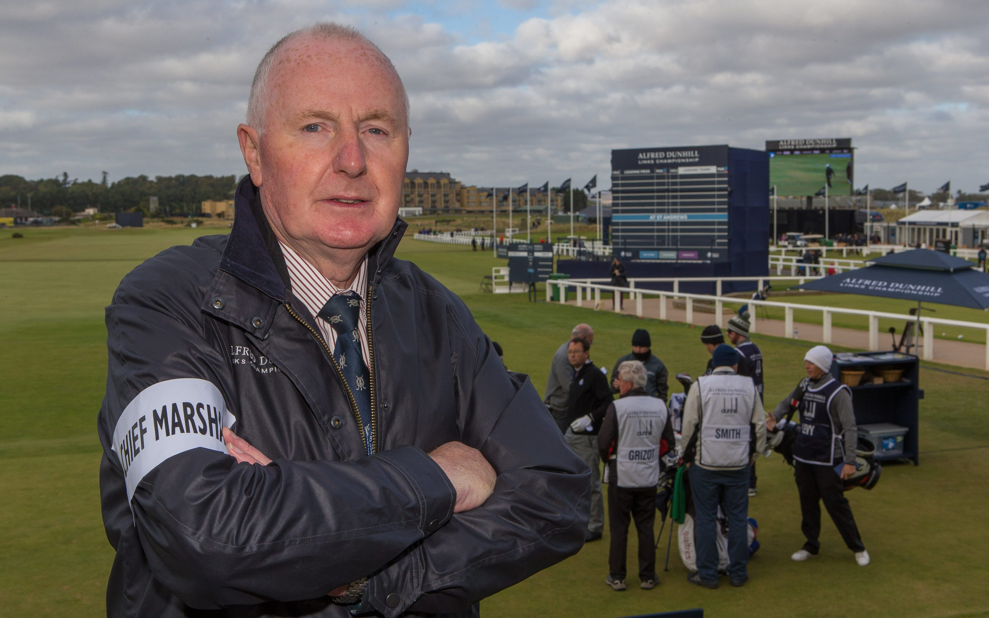 Alfred Dunhill Links Championship Chief Marshal Brendan Duffy