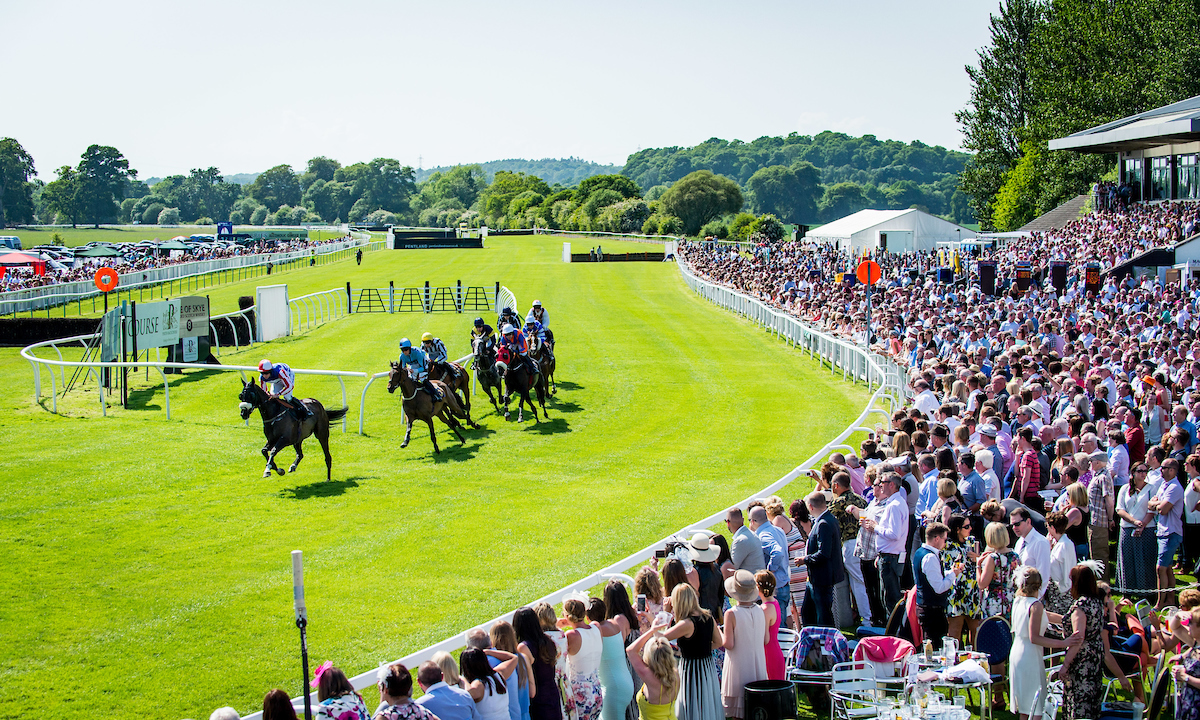 Perth Racecourse's Gold Cup Day.