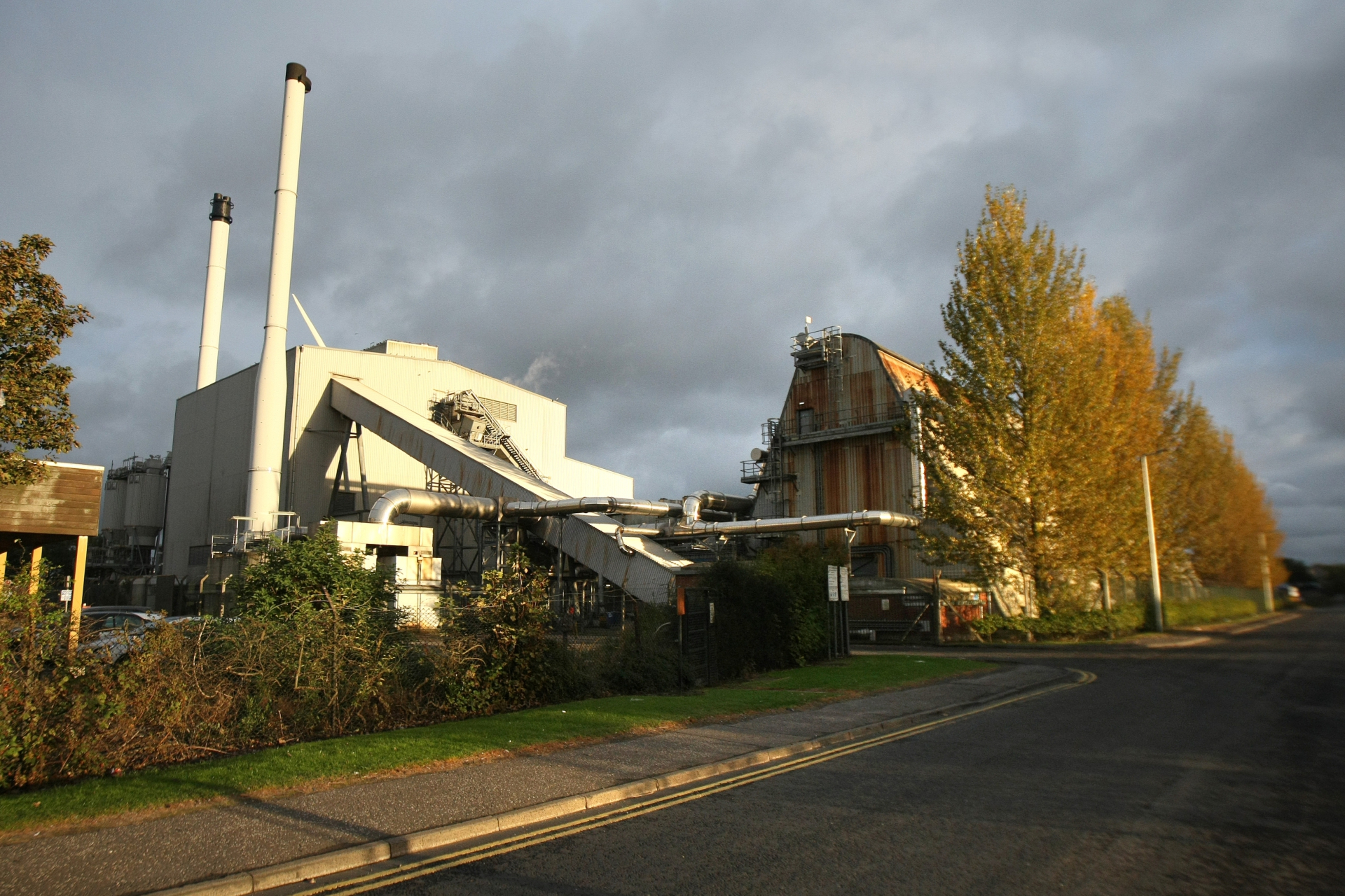 Baldovie Incinerator and Recycling Centre in Dundee