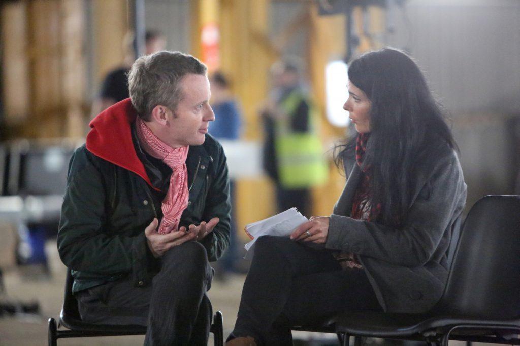 Gayle interviews the director of Crude, Ben Harrison.