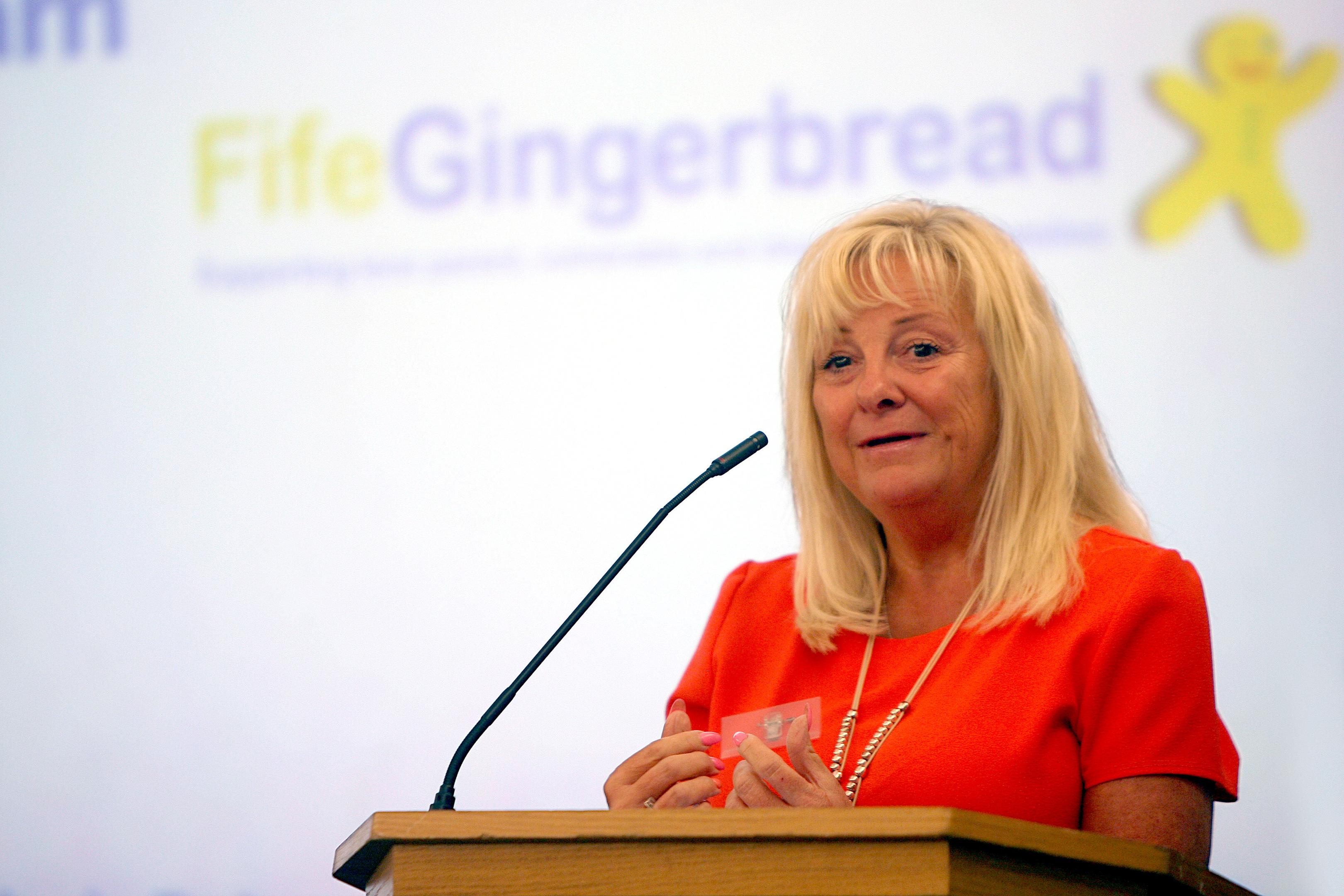 Rhona Cunningham, chief executive of Fife Gingerbread.