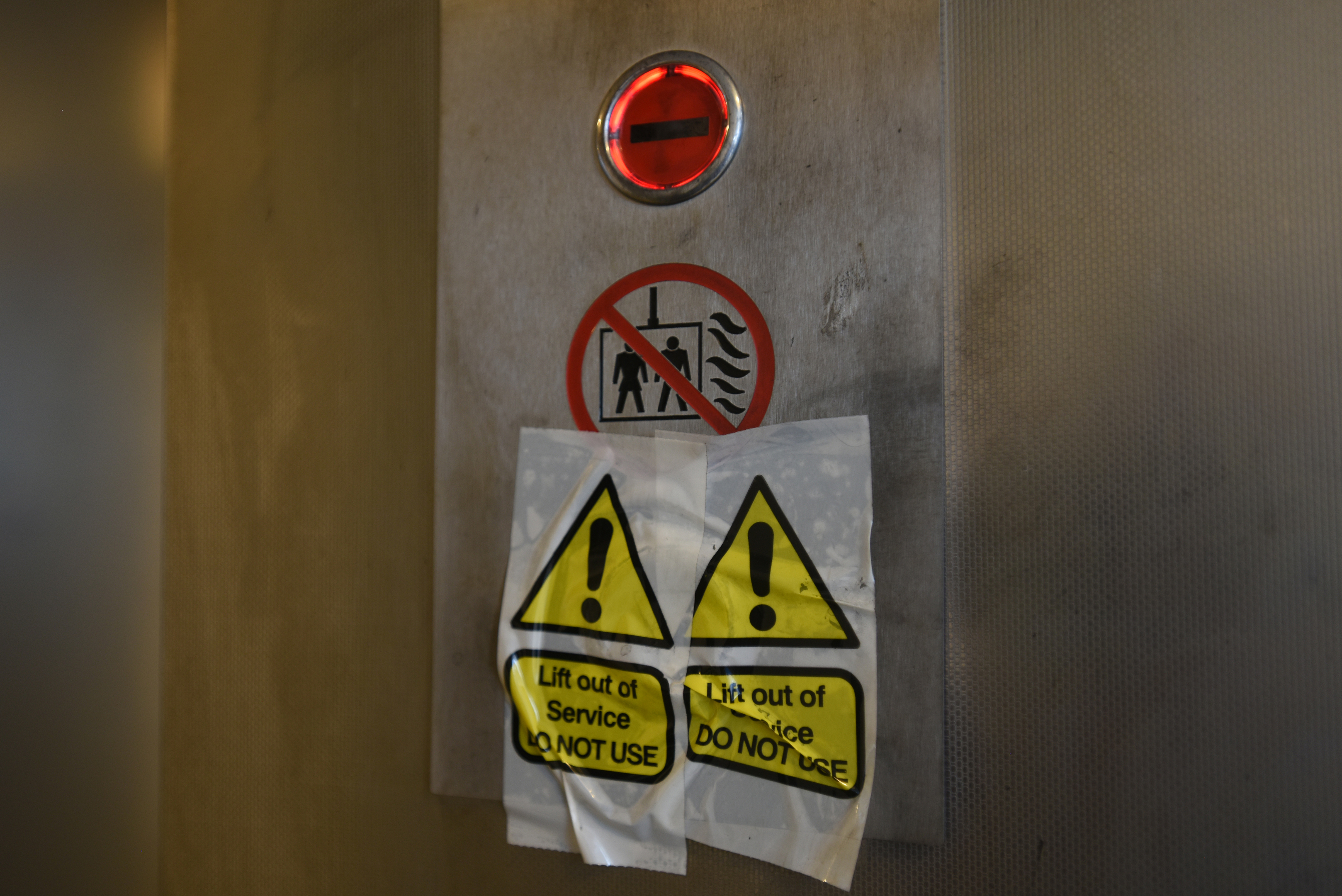 Both lifts at Lansdowne Court are now out of order.