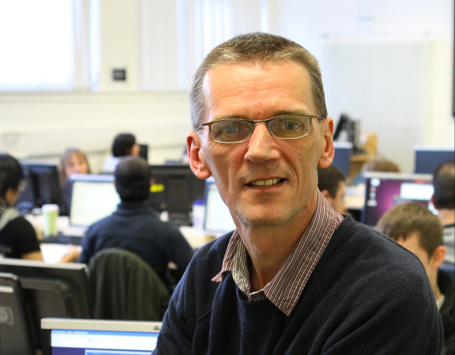 Colin McLean, lecturer in Ethical Hacking at Abertay University