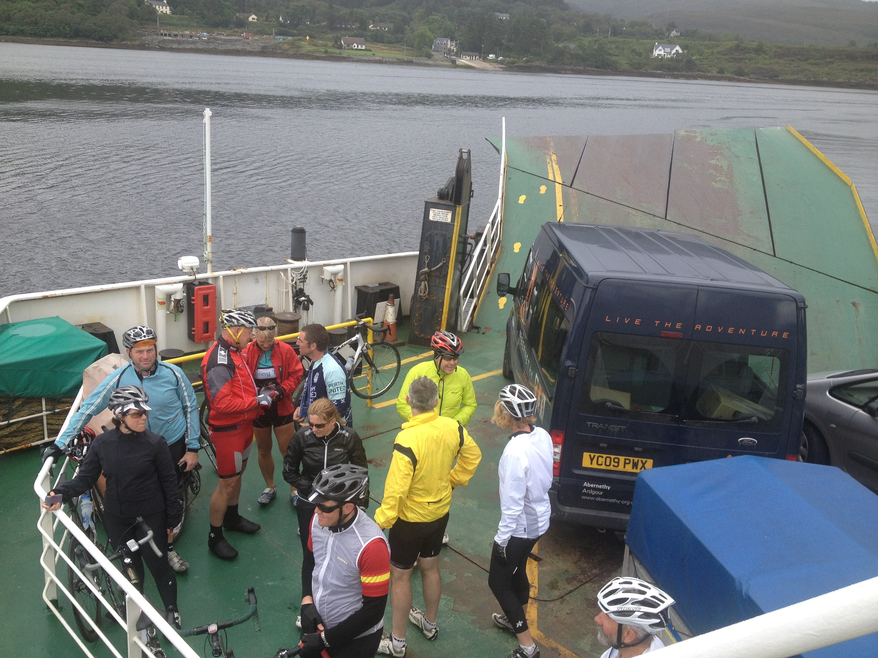 On the ferry to Mallaig from Armadale